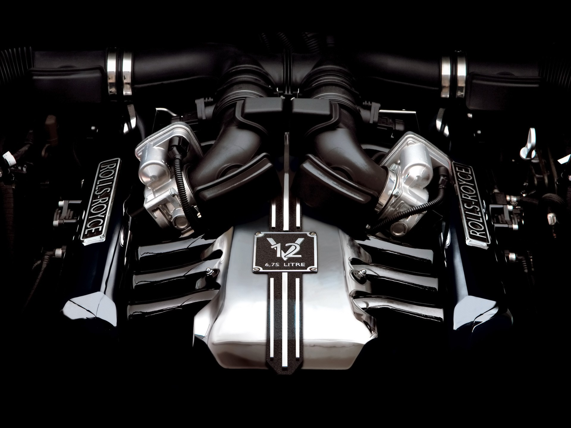 black Engines 2006 Rolls HD Wallpaper