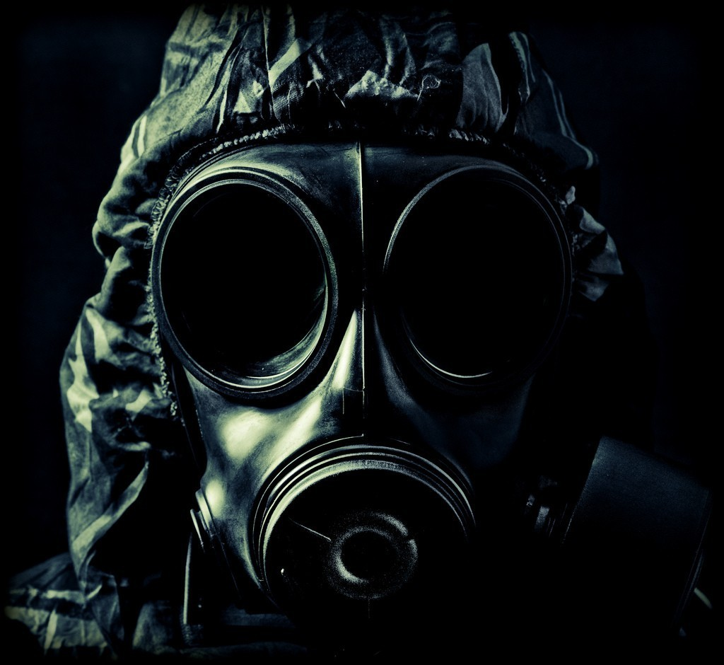 black gas masks toxic HD Wallpaper