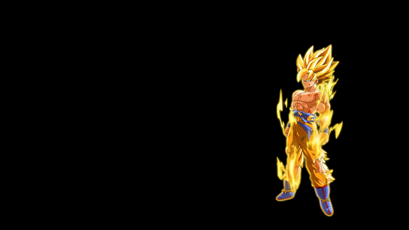 black goku dragon ball HD Wallpaper