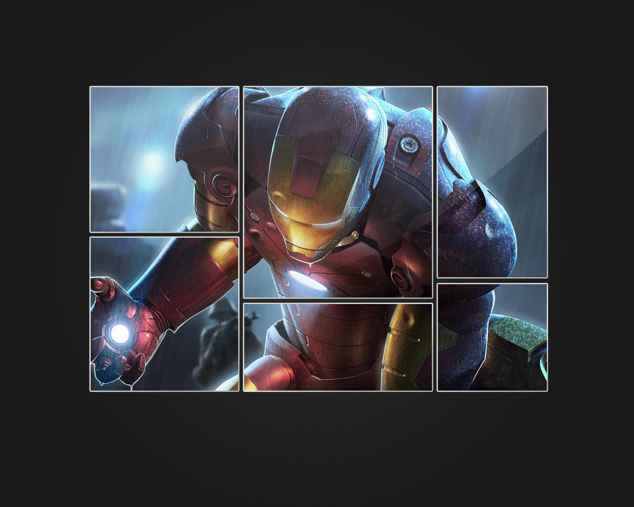 black iron man ironman HD Wallpaper