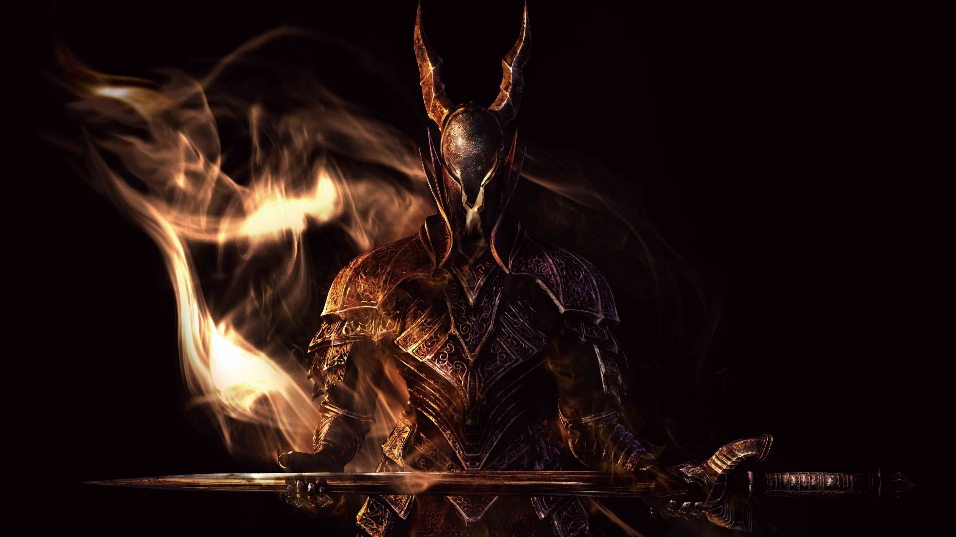 Black Knight dark souls HD Wallpaper