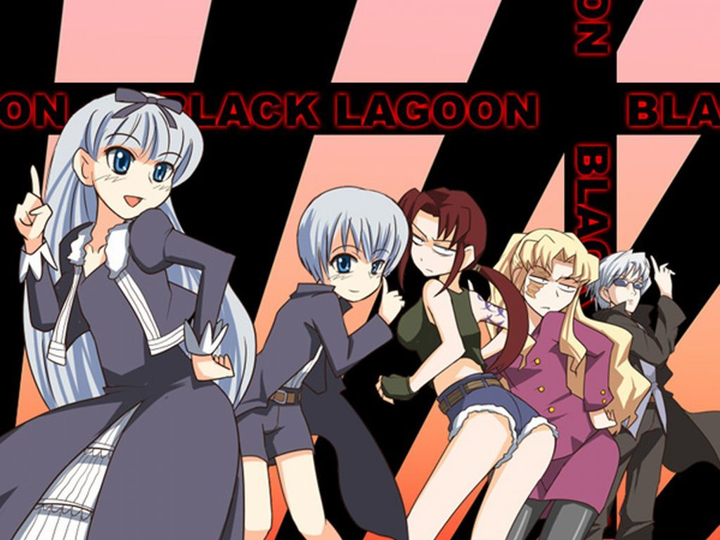 black lagoon Anime HD Wallpaper