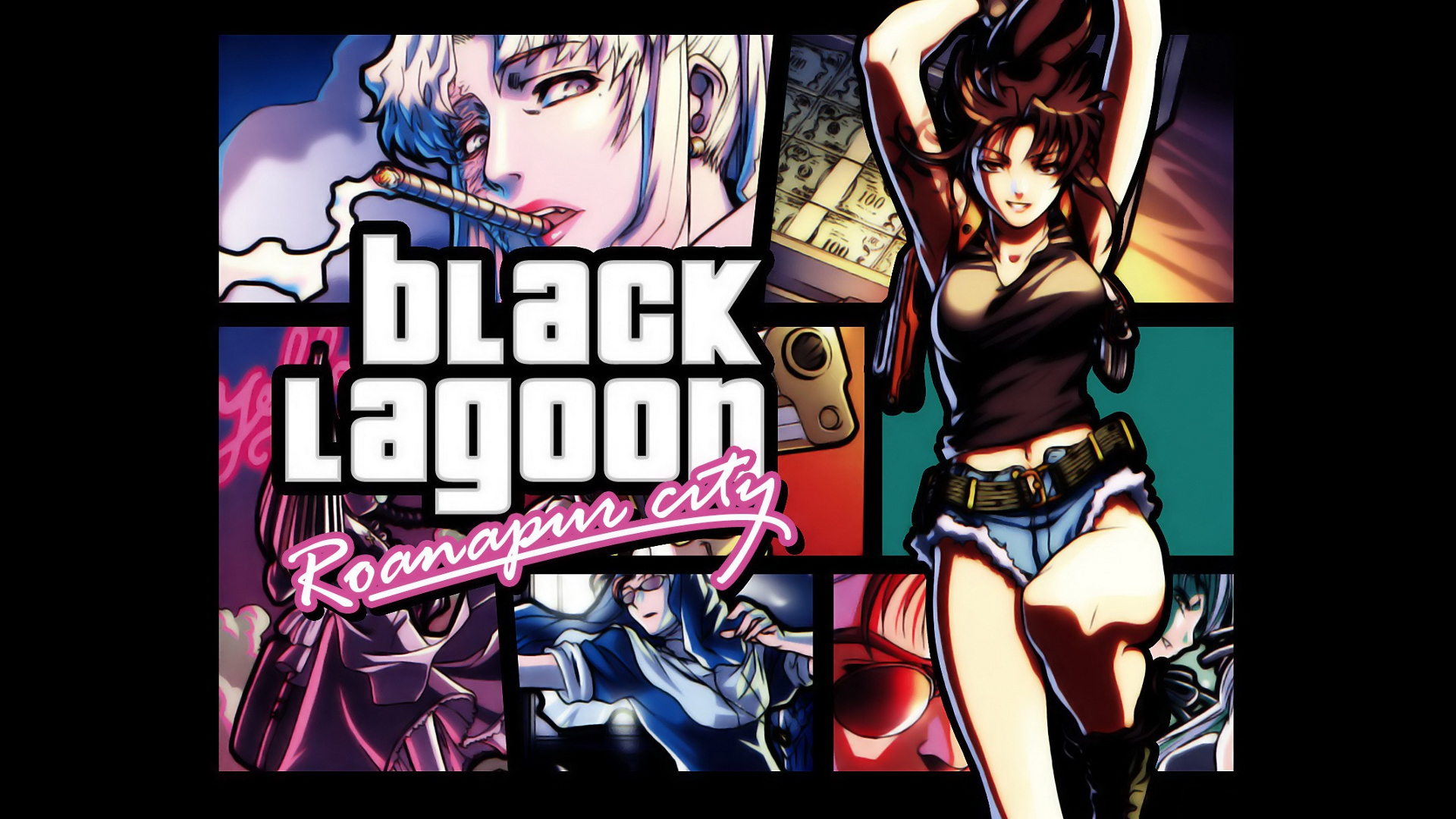 black lagoon grand theft HD Wallpaper