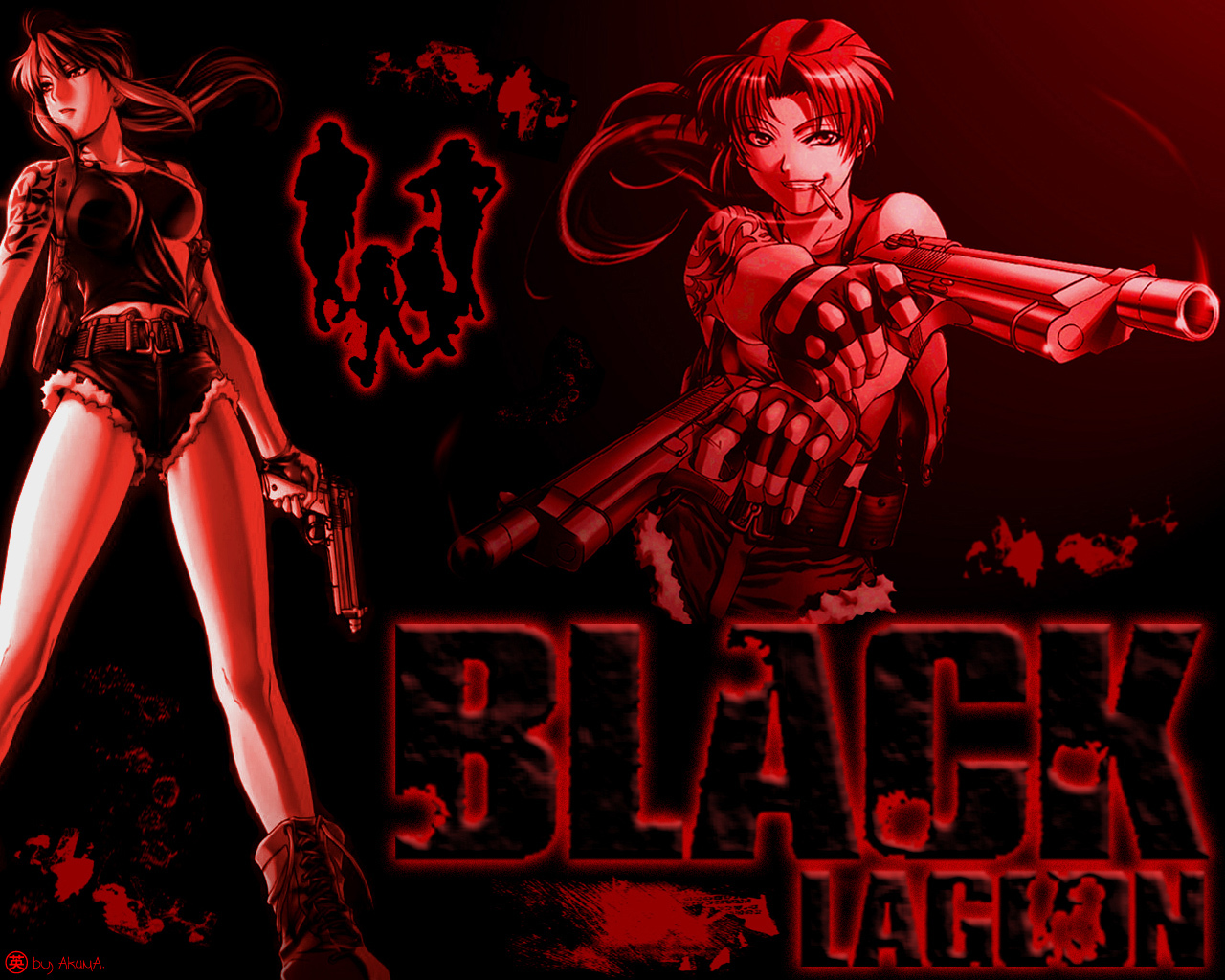 black lagoon Revi HD Wallpaper