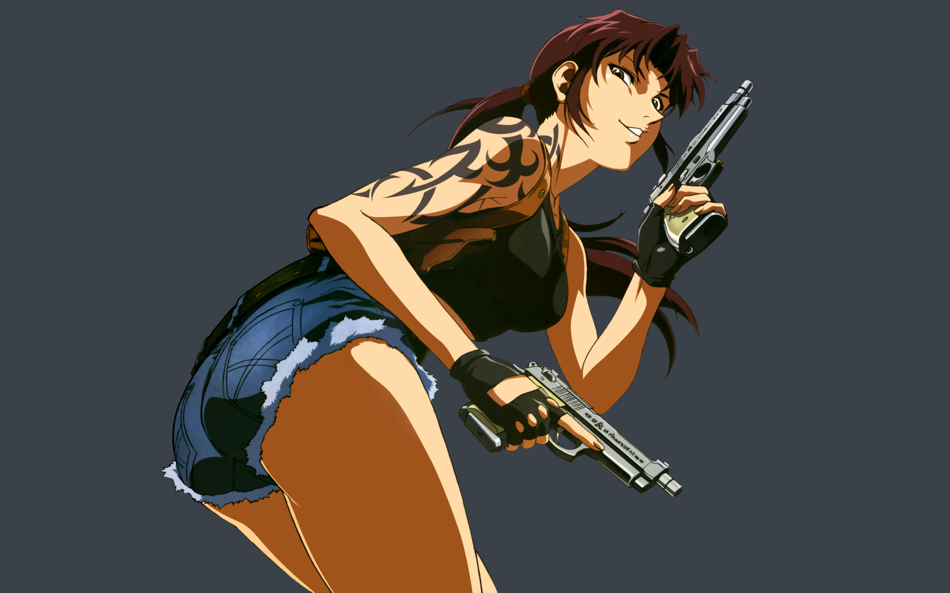 black lagoon Revy Anime HD Wallpaper