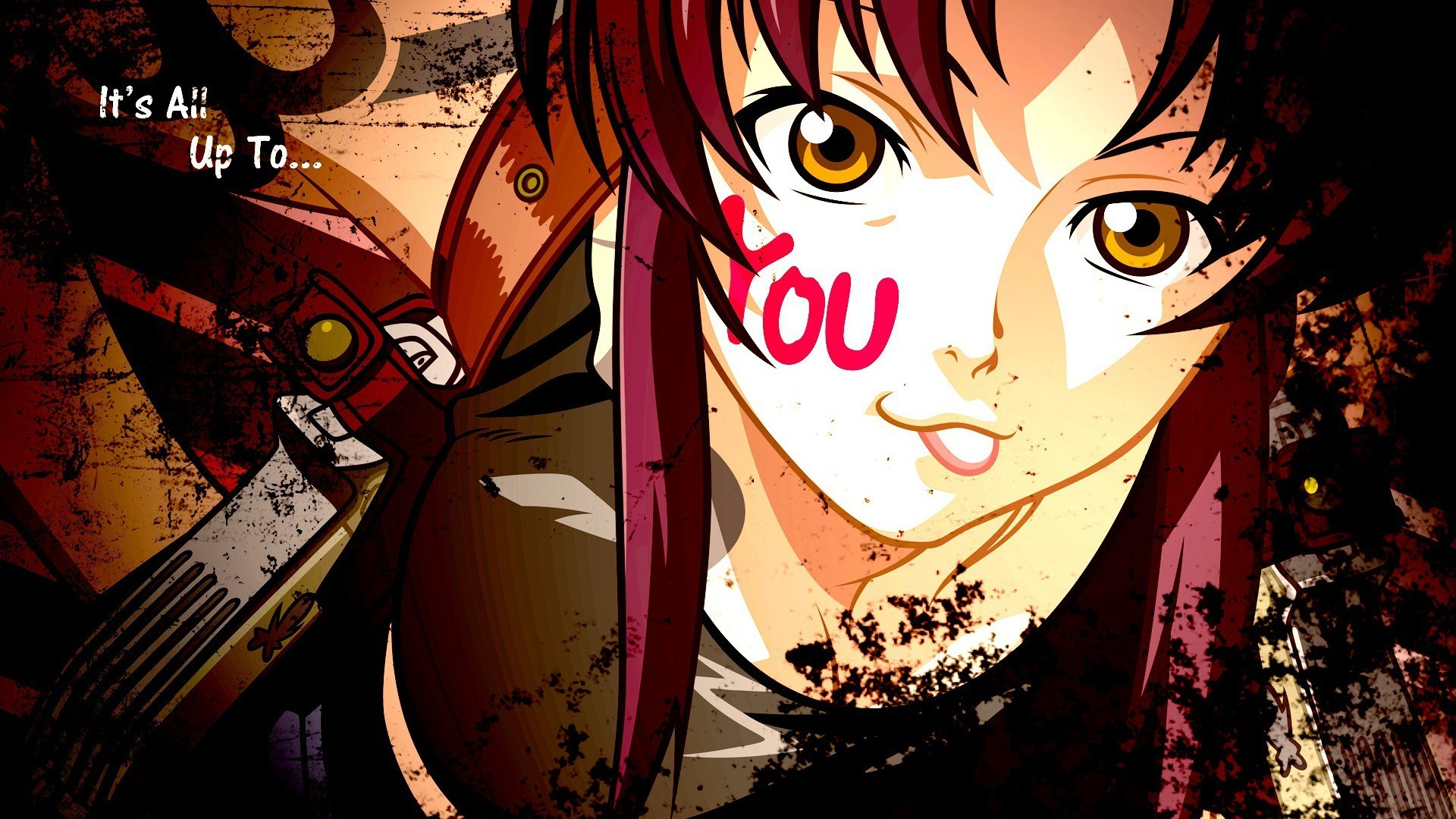 black lagoon Revy Guns HD Wallpaper
