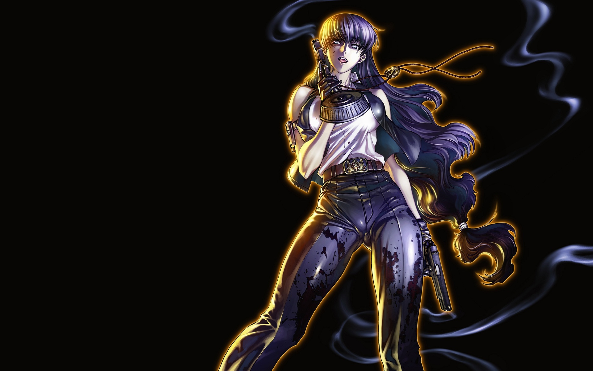 black lagoon Roberta No HD Wallpaper