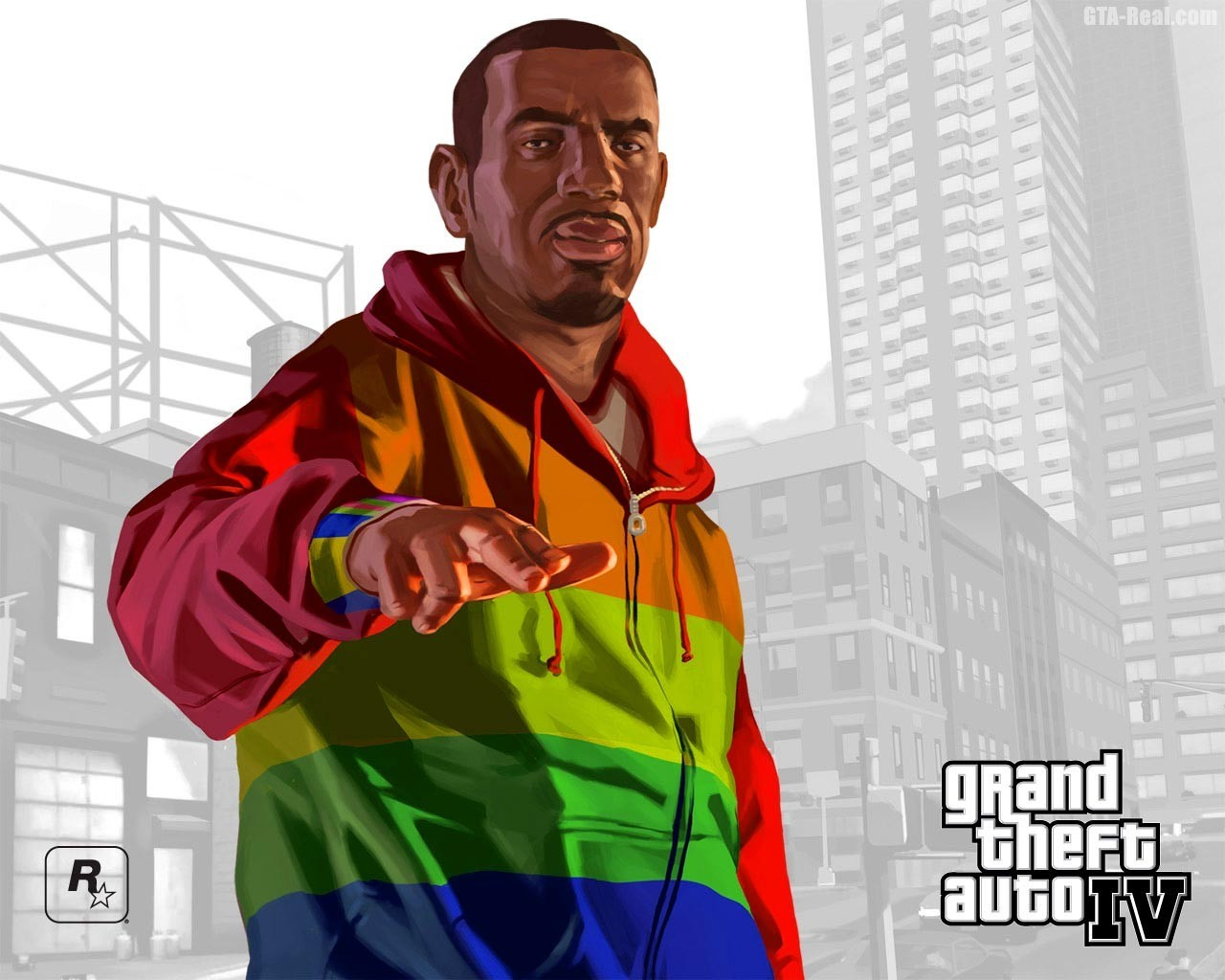 black people grand theft HD Wallpaper