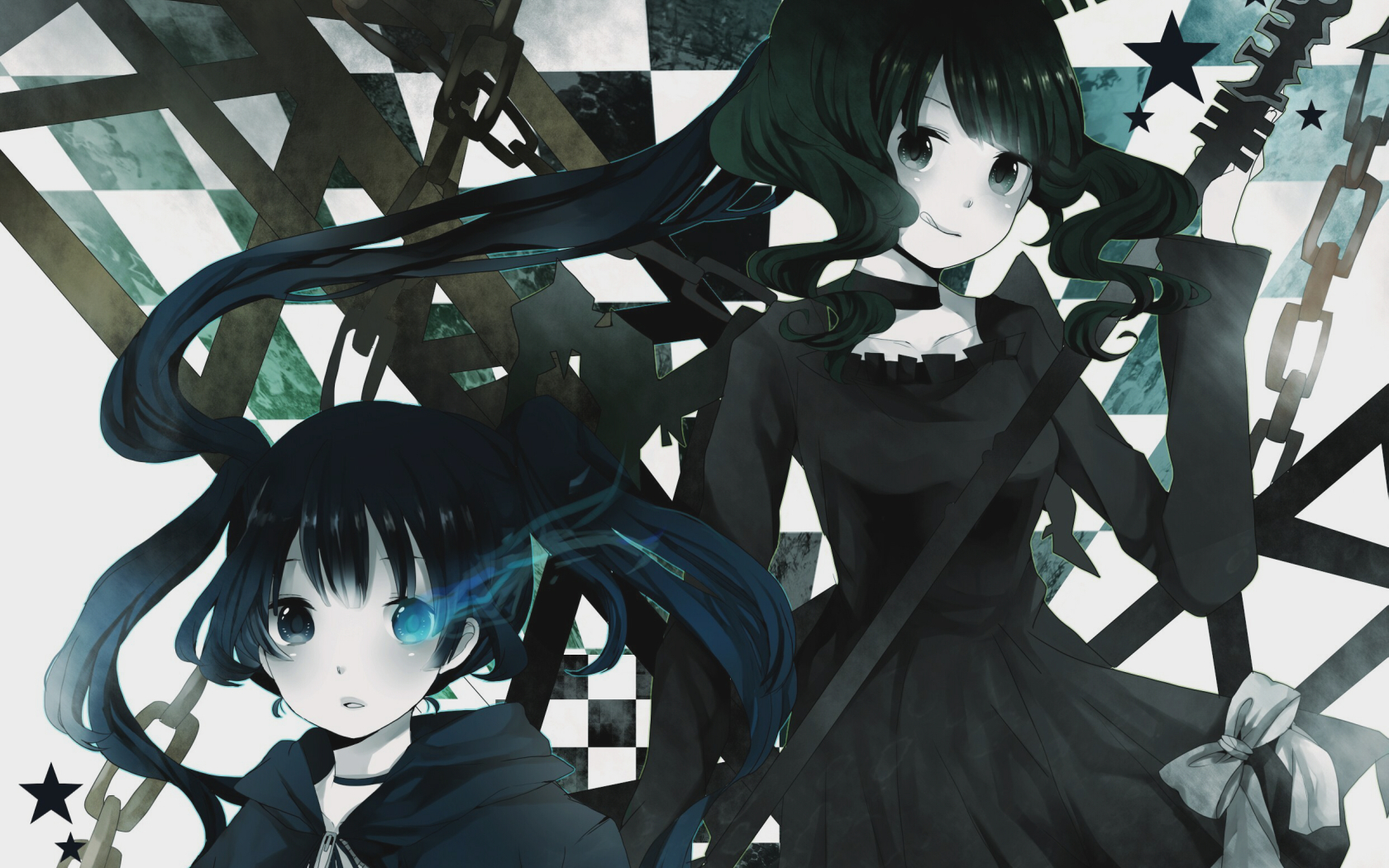 black rock Shooter Anime HD Wallpaper