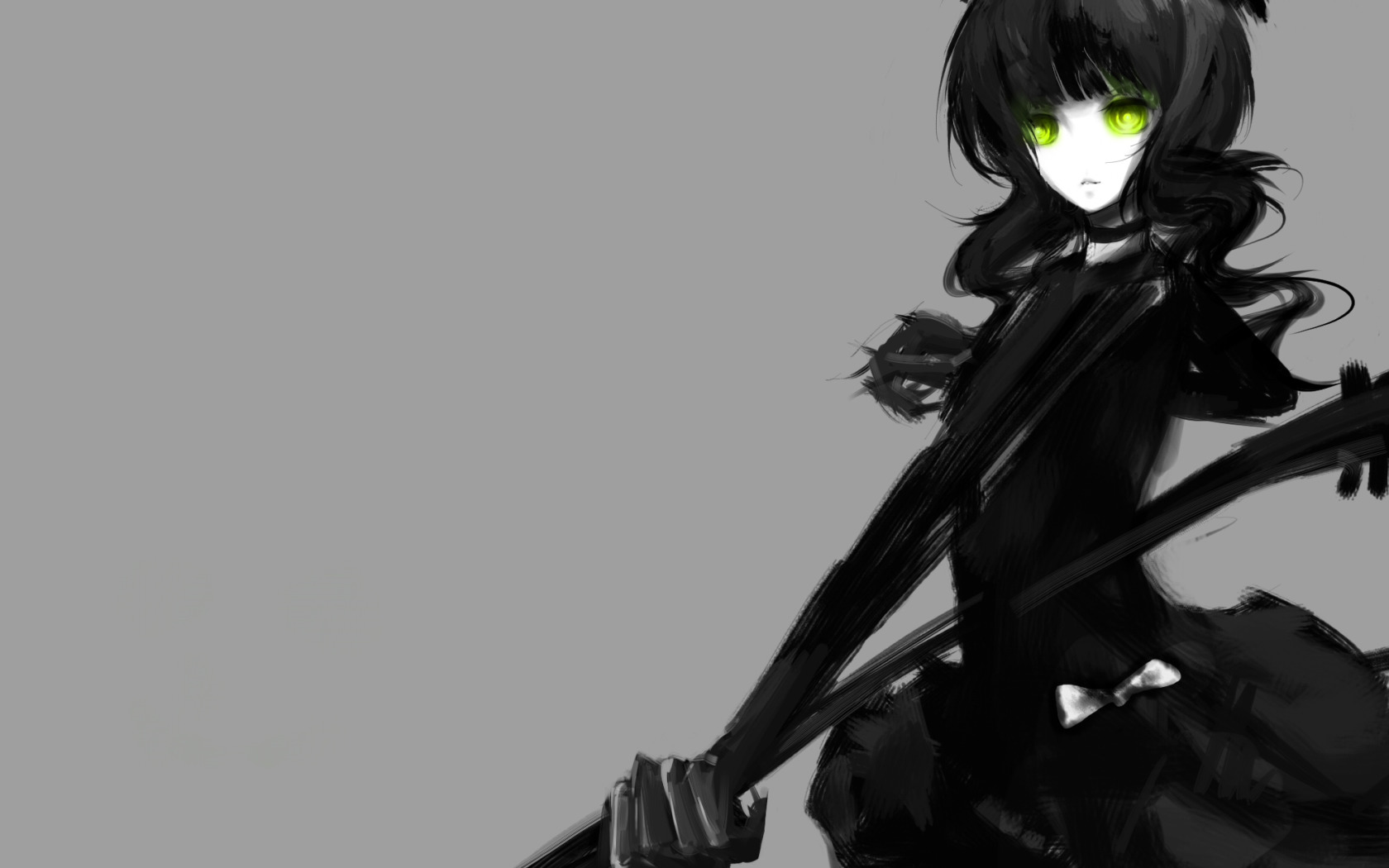 black rock Shooter dead HD Wallpaper