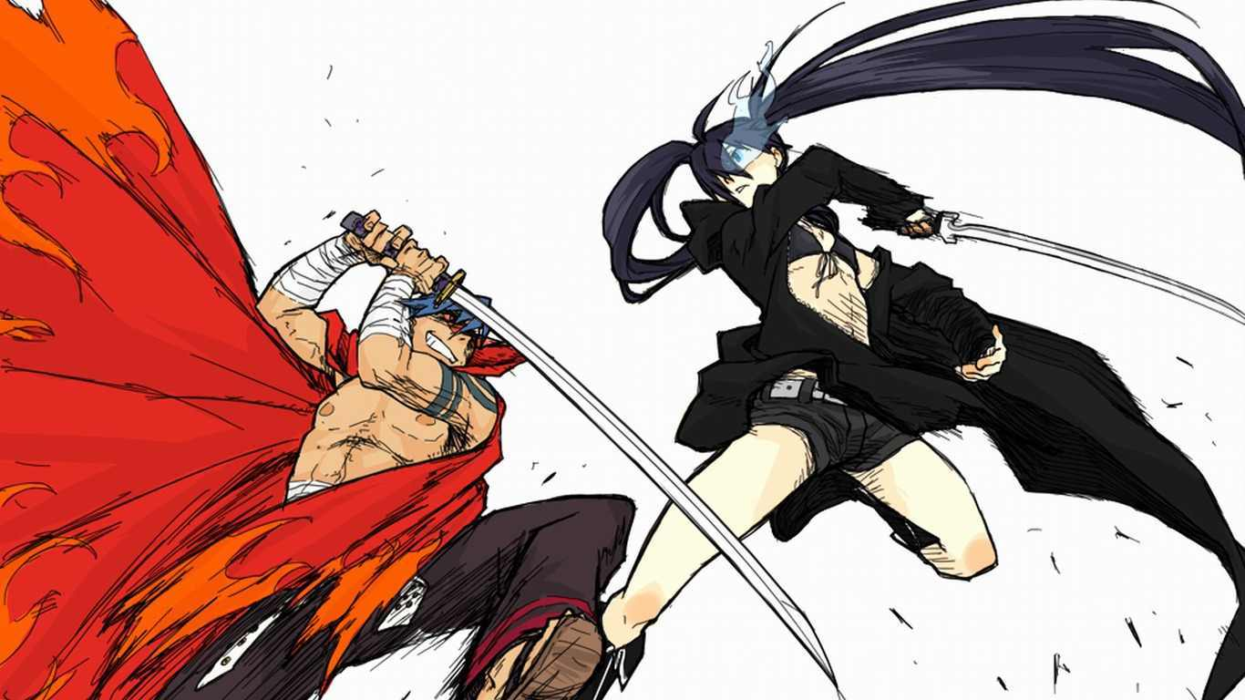 black rock shooter Kamina HD Wallpaper