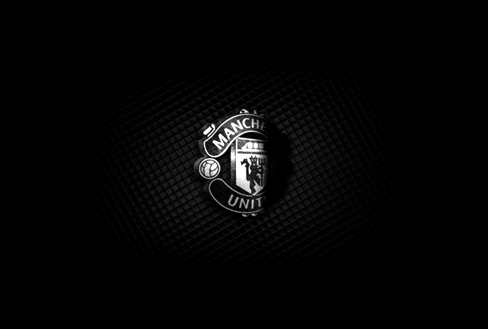black Sports Manchester United HD Wallpaper