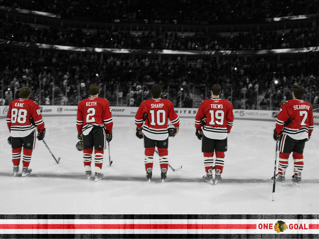 blackhawks lets just cut HD Wallpaper