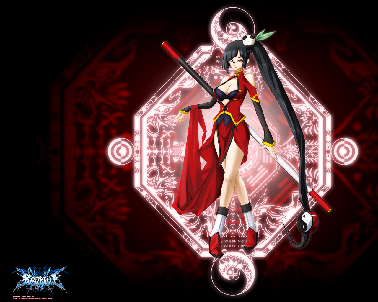 blazblue litchi Faye ling HD Wallpaper