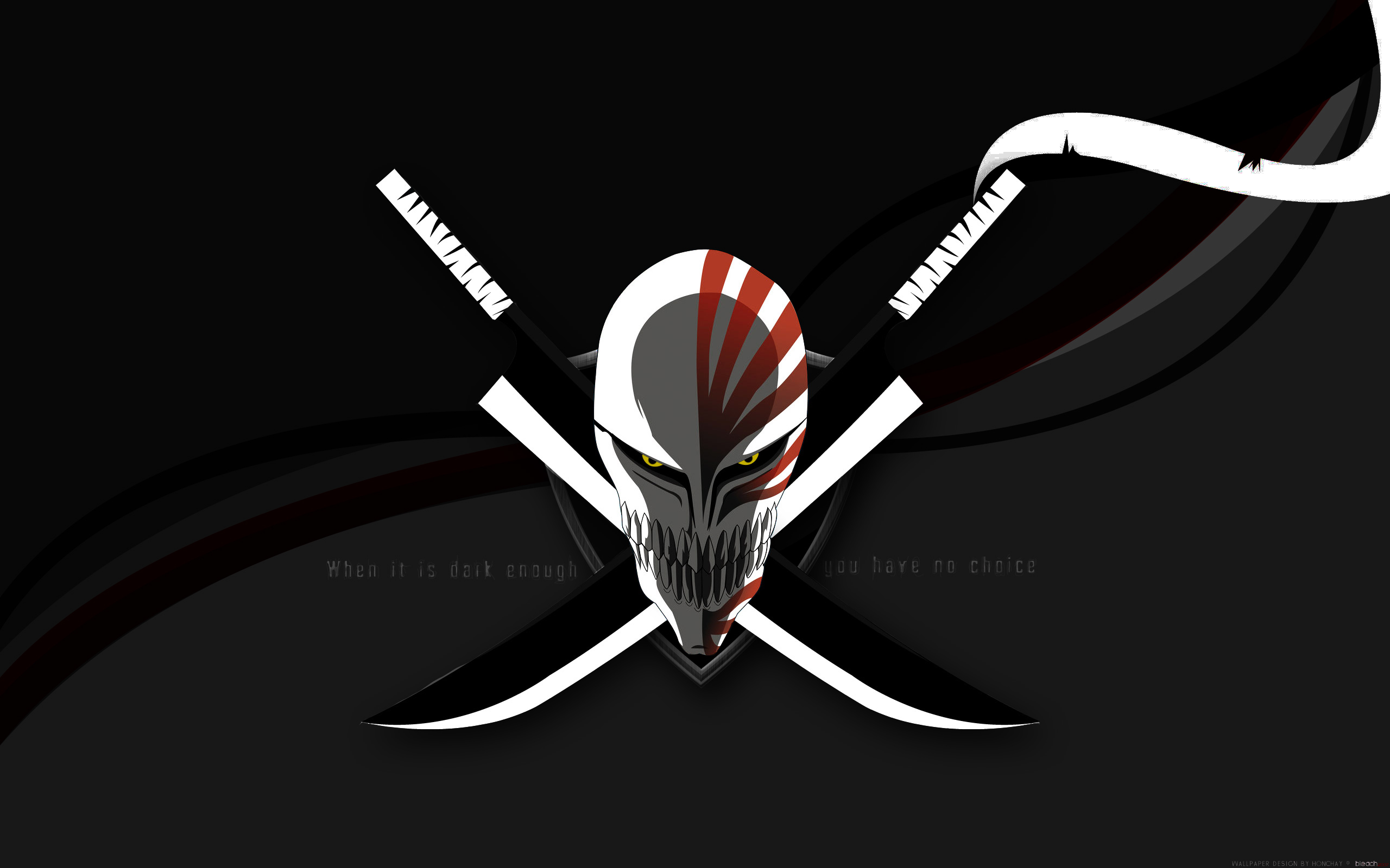 bleach hollow mask HD Wallpaper