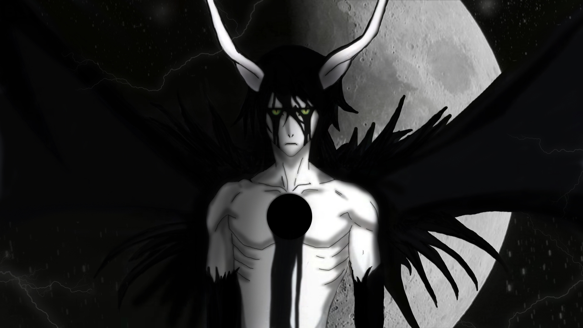 bleach moon Espada Ulquiorra HD Wallpaper
