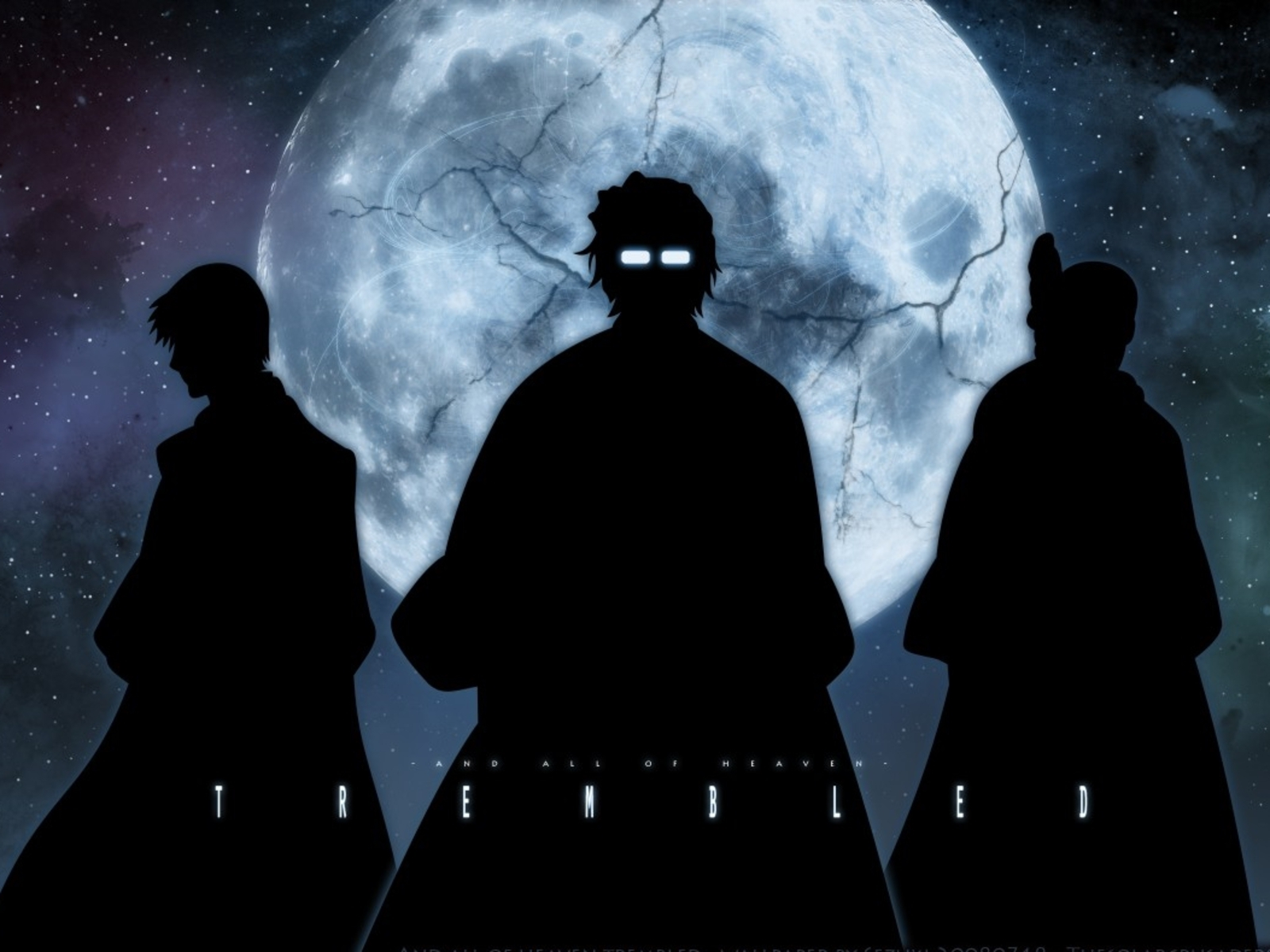 bleach moon silhouette ichimaru HD Wallpaper