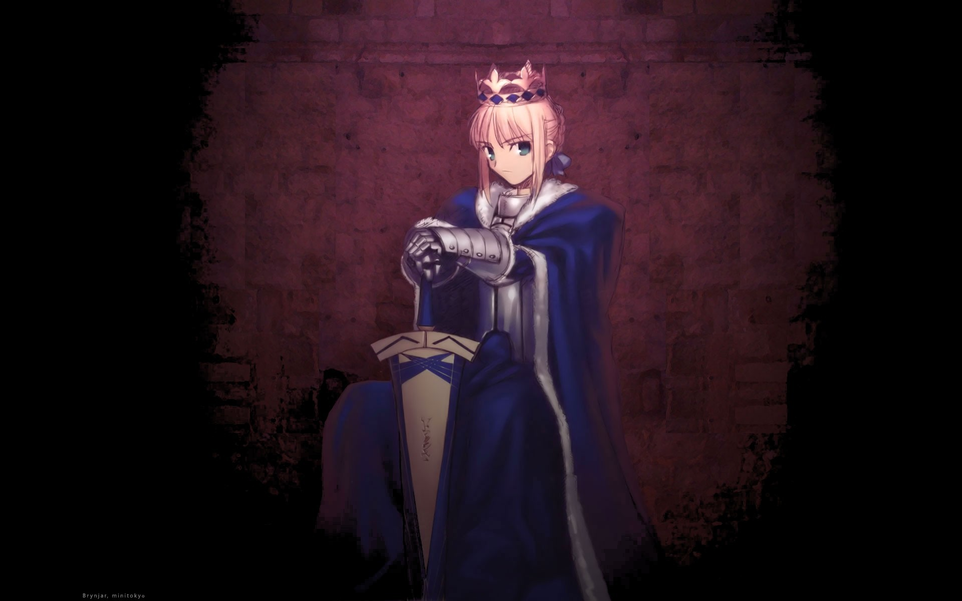 blondes fate stay night HD Wallpaper