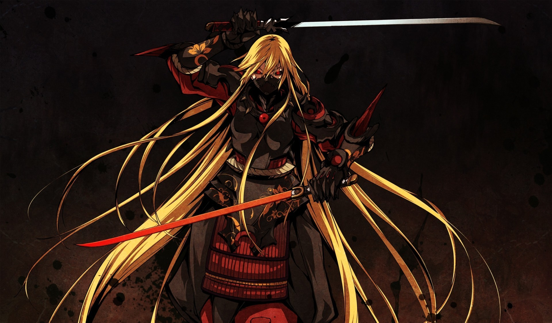 blondes long hair weapons HD Wallpaper