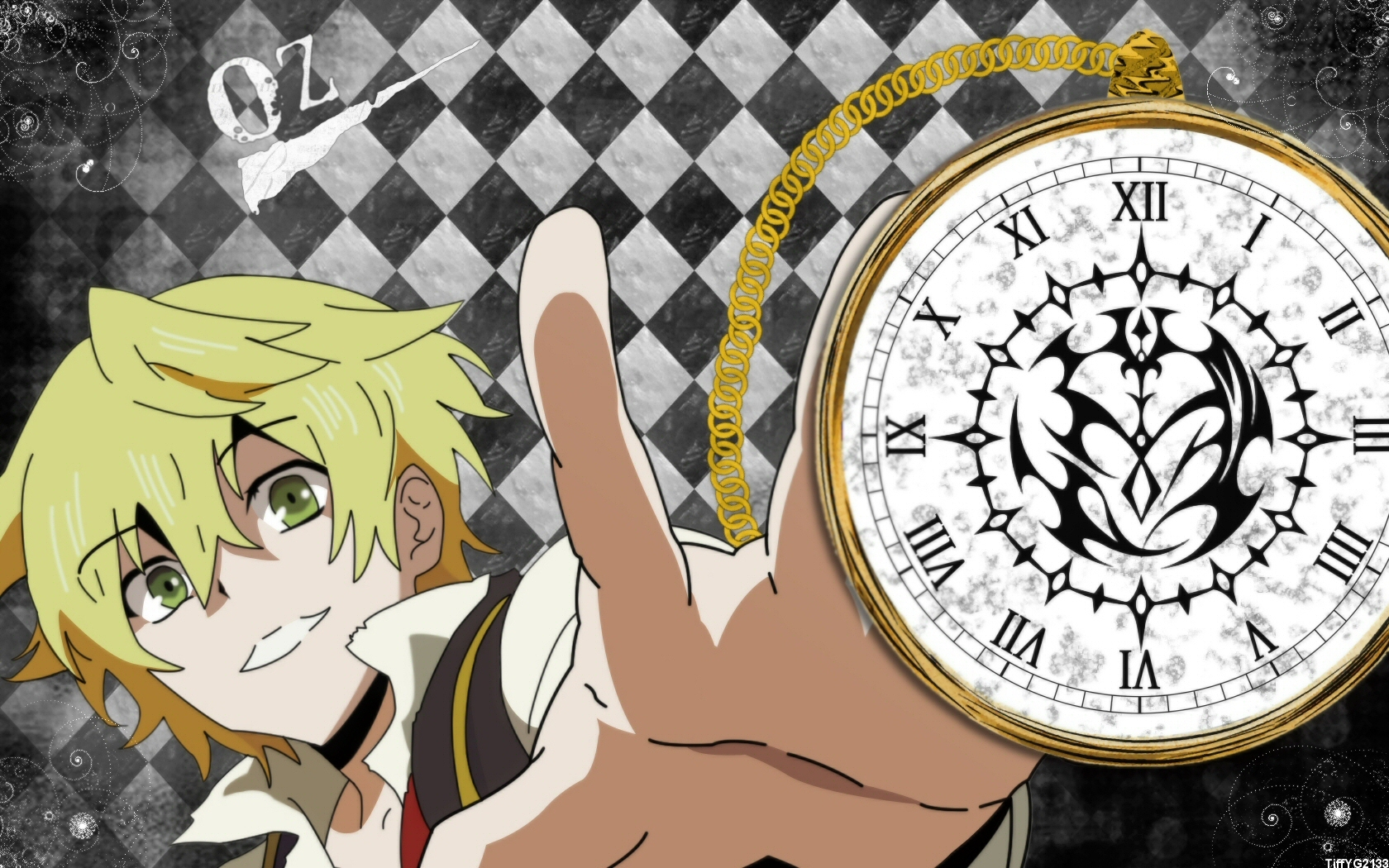 blondes pandora hearts Anime