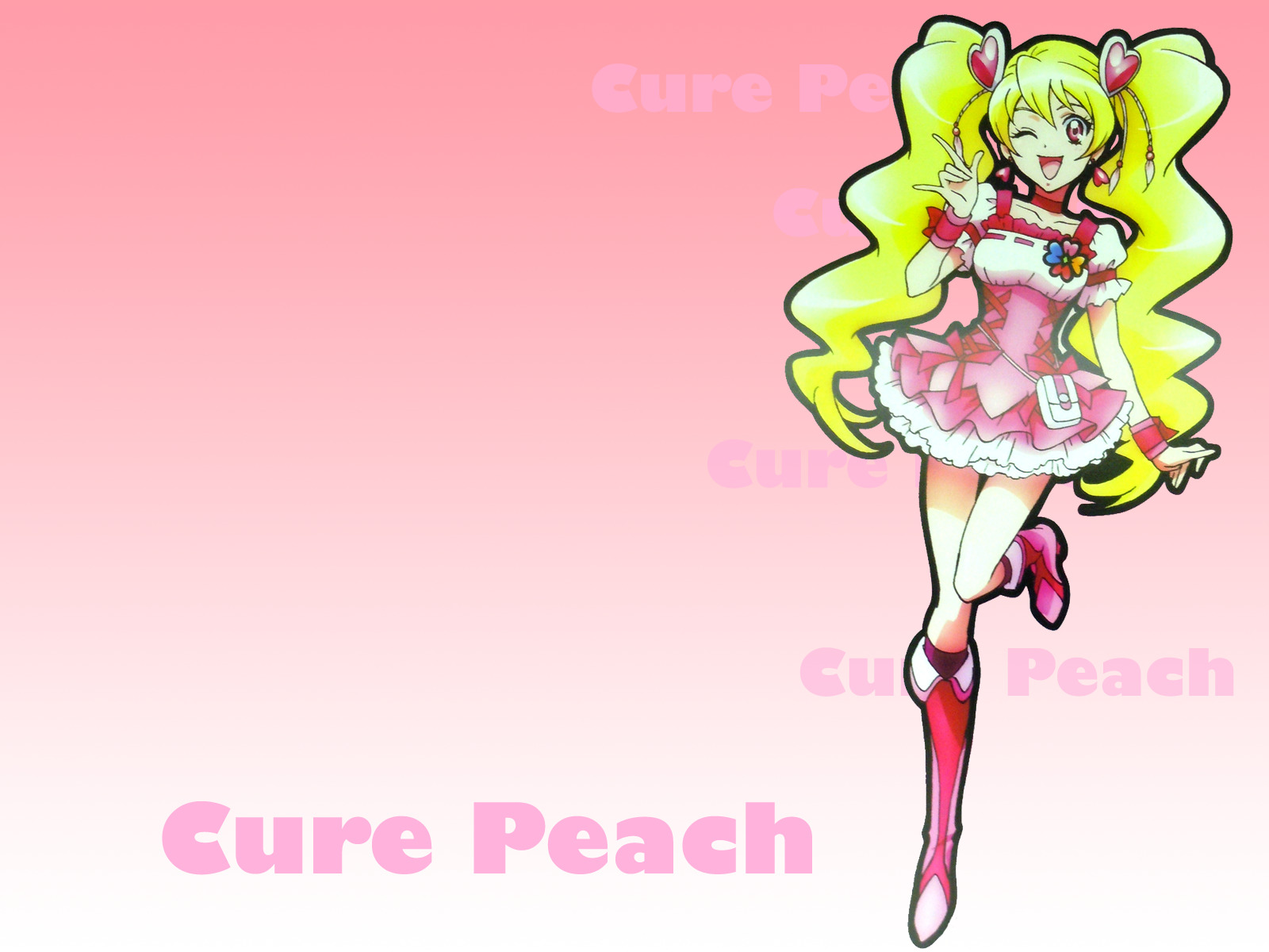 blondes pretty cure simple HD Wallpaper