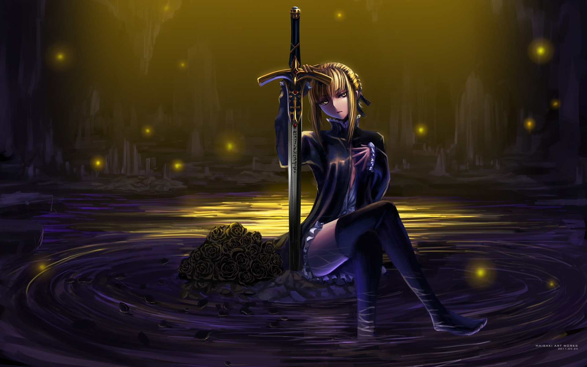 blondes water fate stay HD Wallpaper