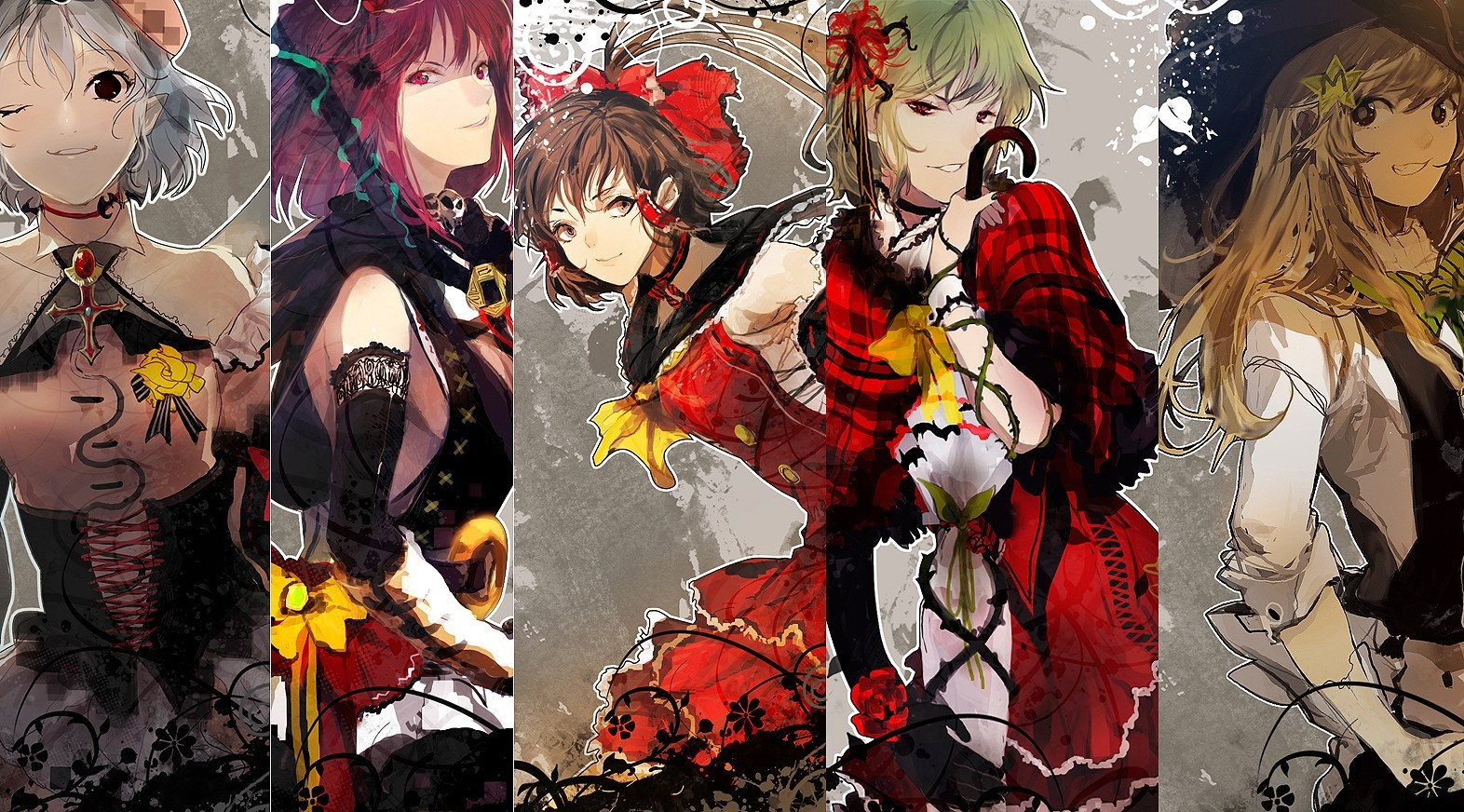 blondes witch touhou redheads HD Wallpaper