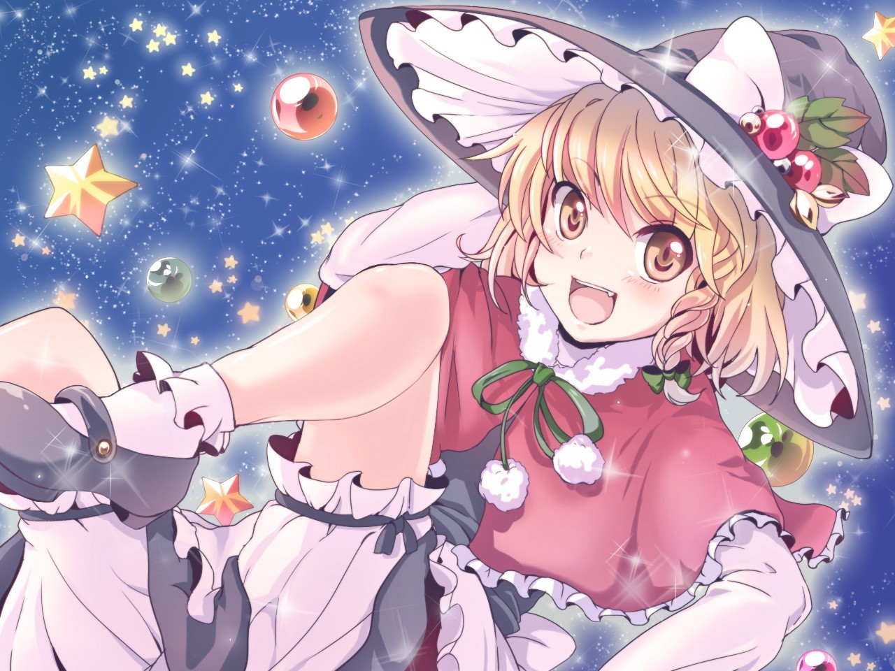 blondes witch touhou Stars