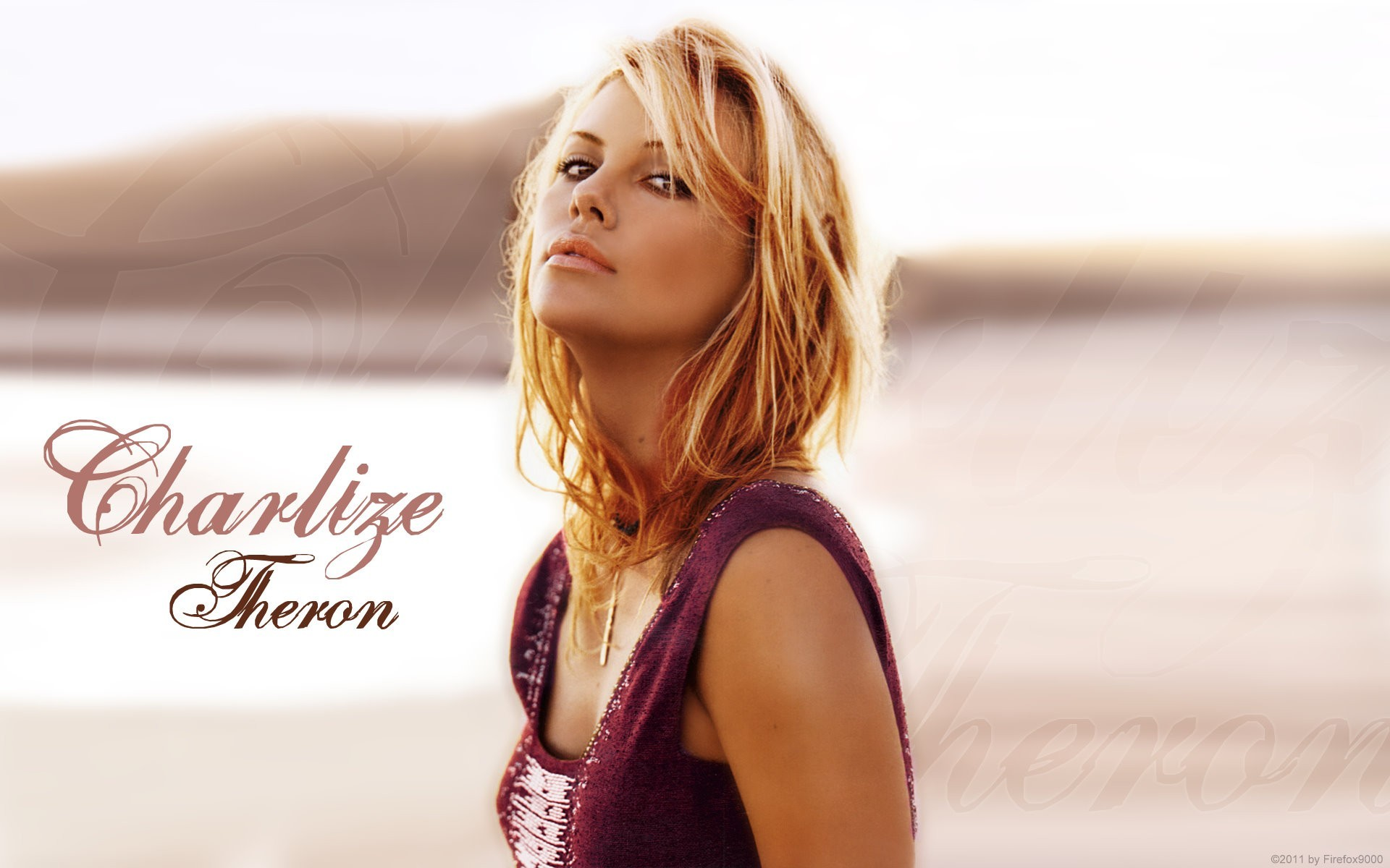 blondes woman charlize theron HD Wallpaper