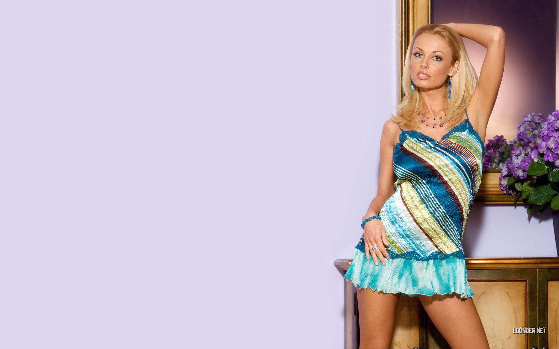 blondes woman dress Anita HD Wallpaper
