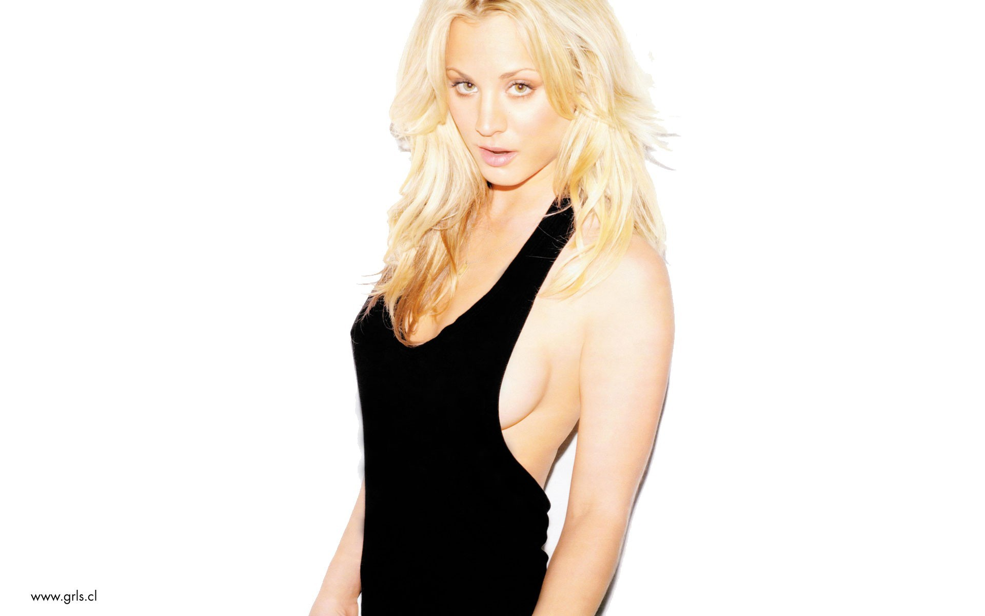 blondes woman kaley cuoco HD Wallpaper