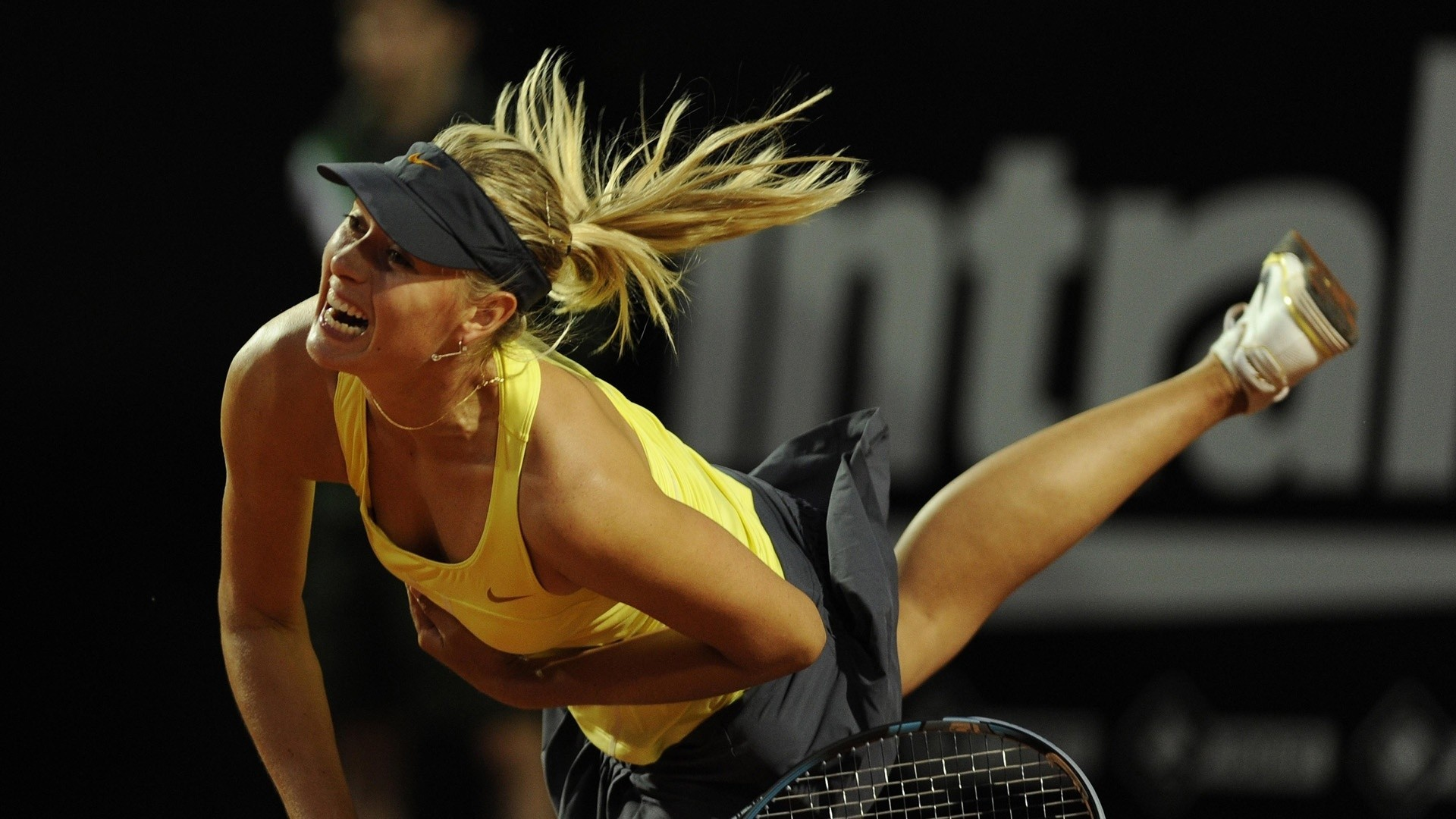 blondes woman maria sharapova HD Wallpaper