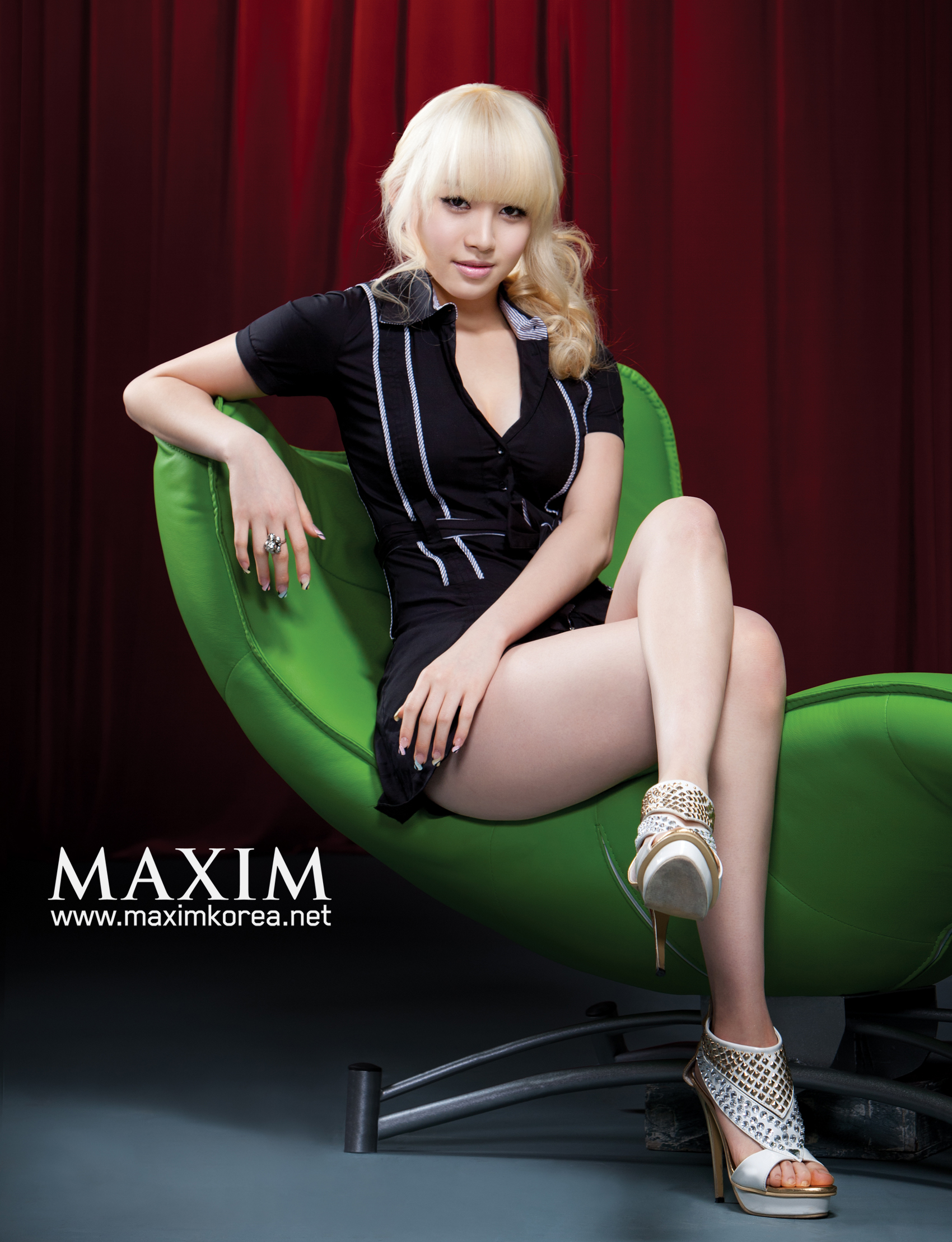 blondes woman Maxim magazine HD Wallpaper