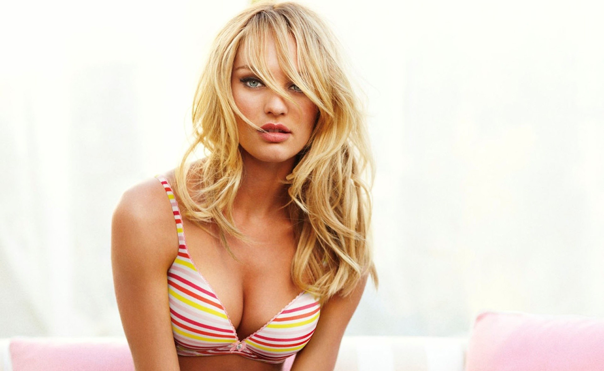 blondes woman models candice HD Wallpaper