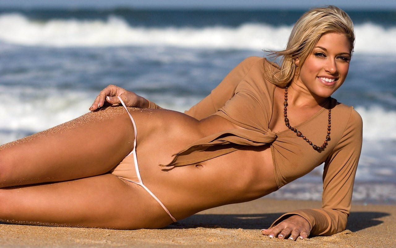blondes woman models WWE HD Wallpaper