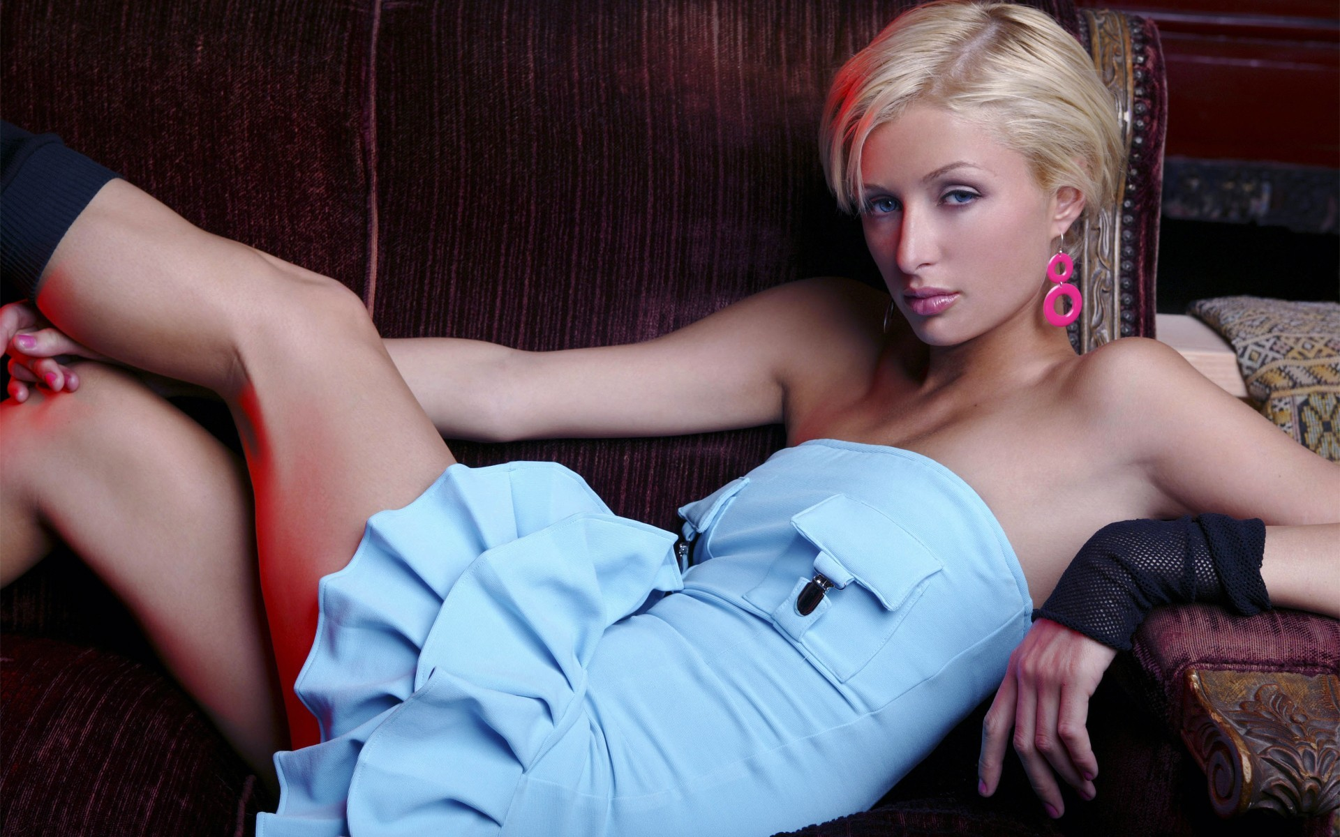blondes woman Paris Hilton HD Wallpaper