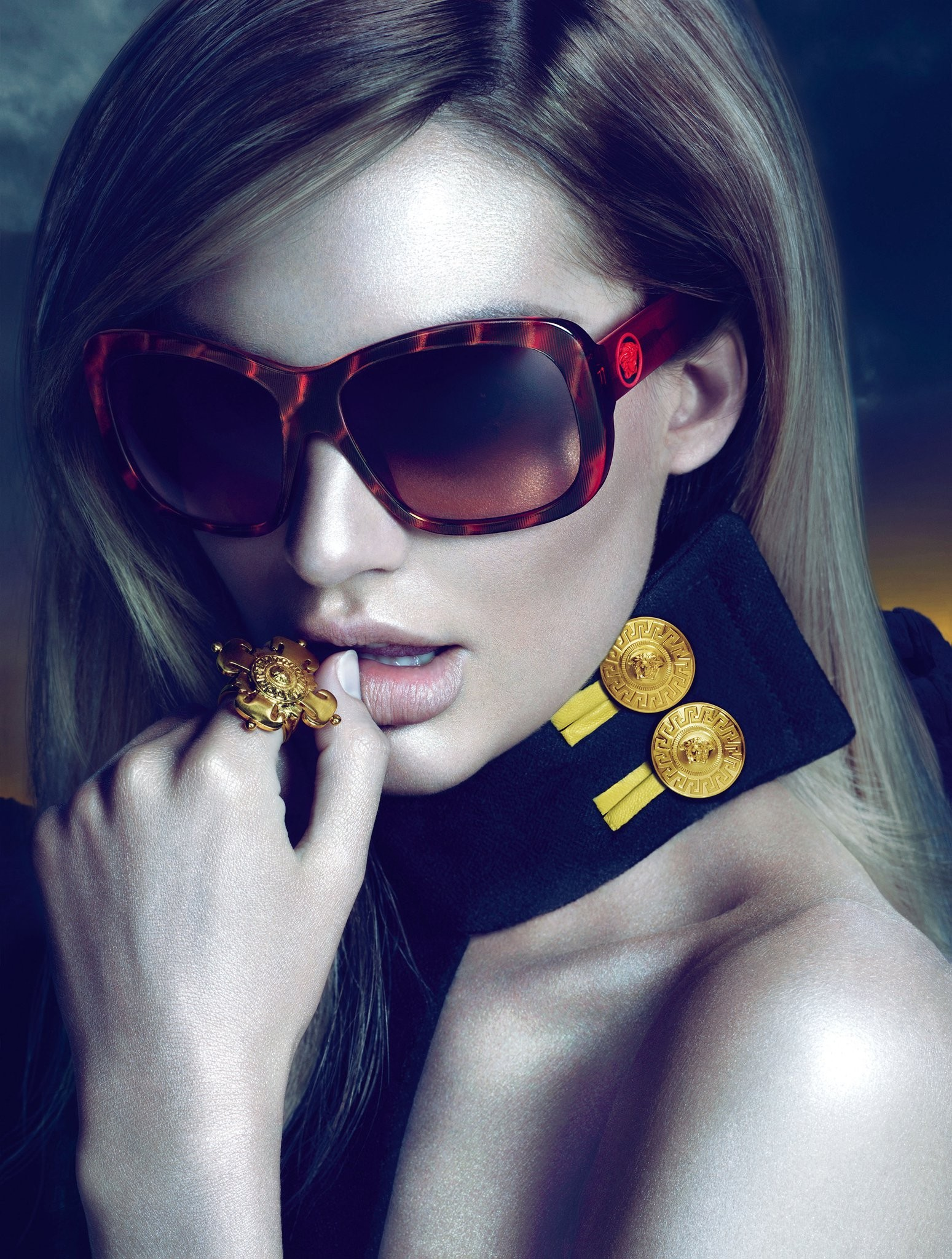 blondes woman sunglasses candice HD Wallpaper