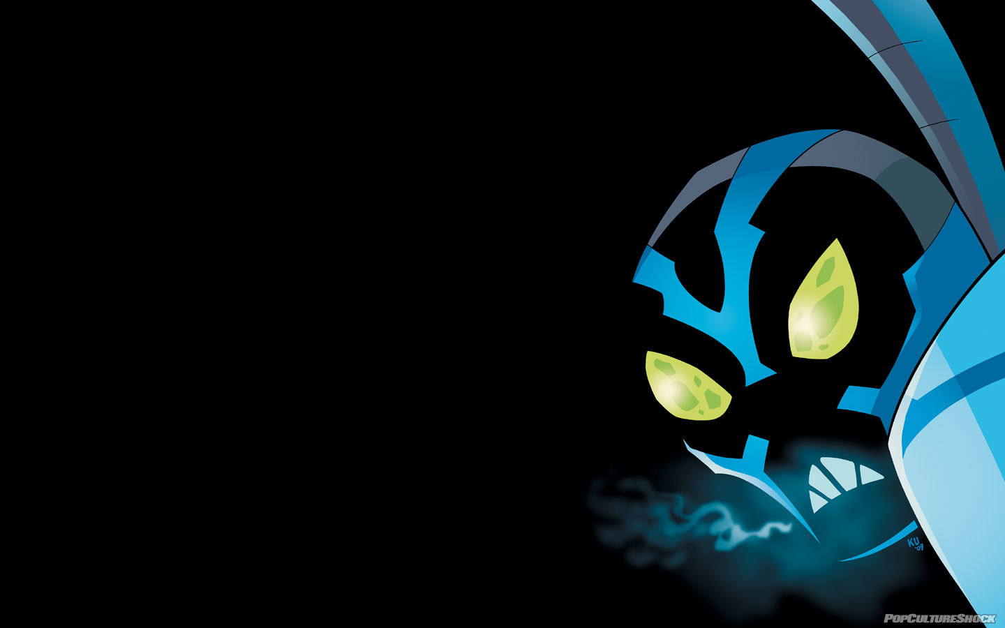 blue beetle Min ku HD Wallpaper