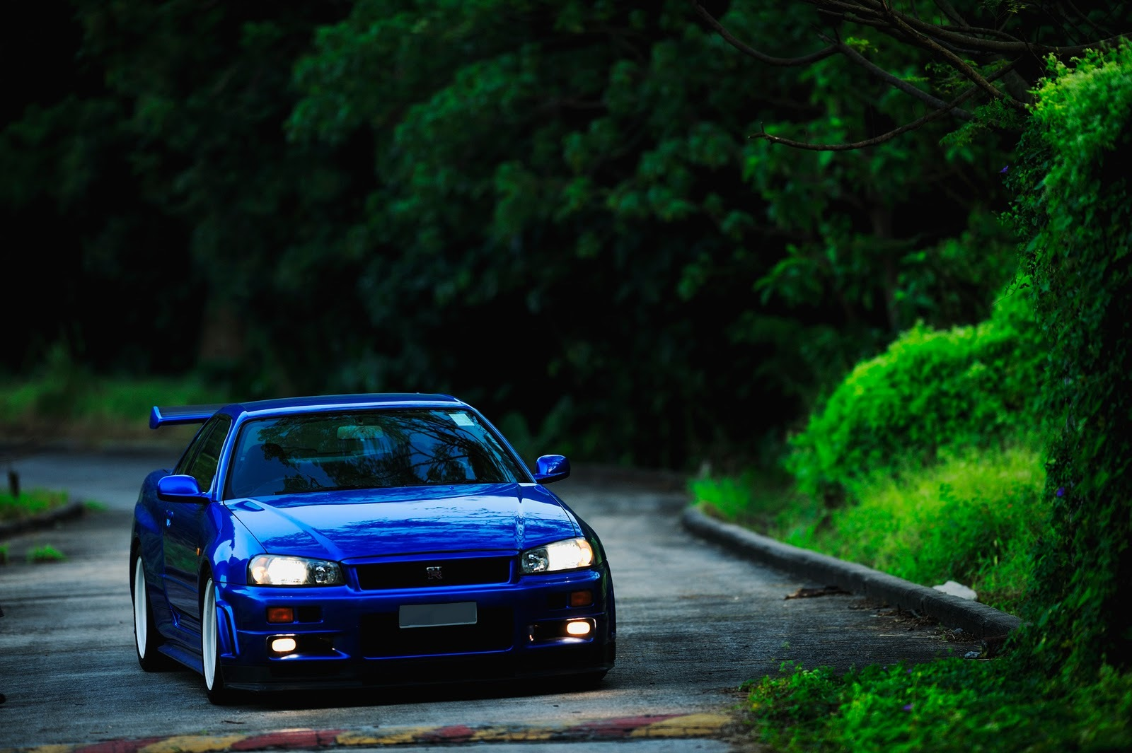 blue cars Nissan Nissan HD Wallpaper