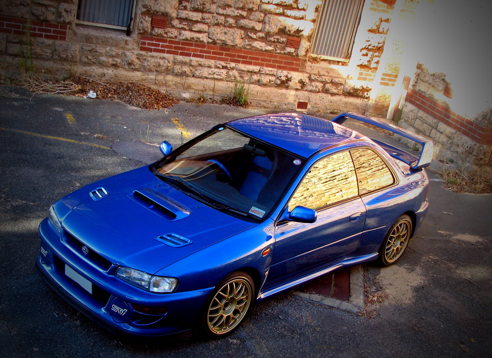 blue cars Subaru subaru HD Wallpaper