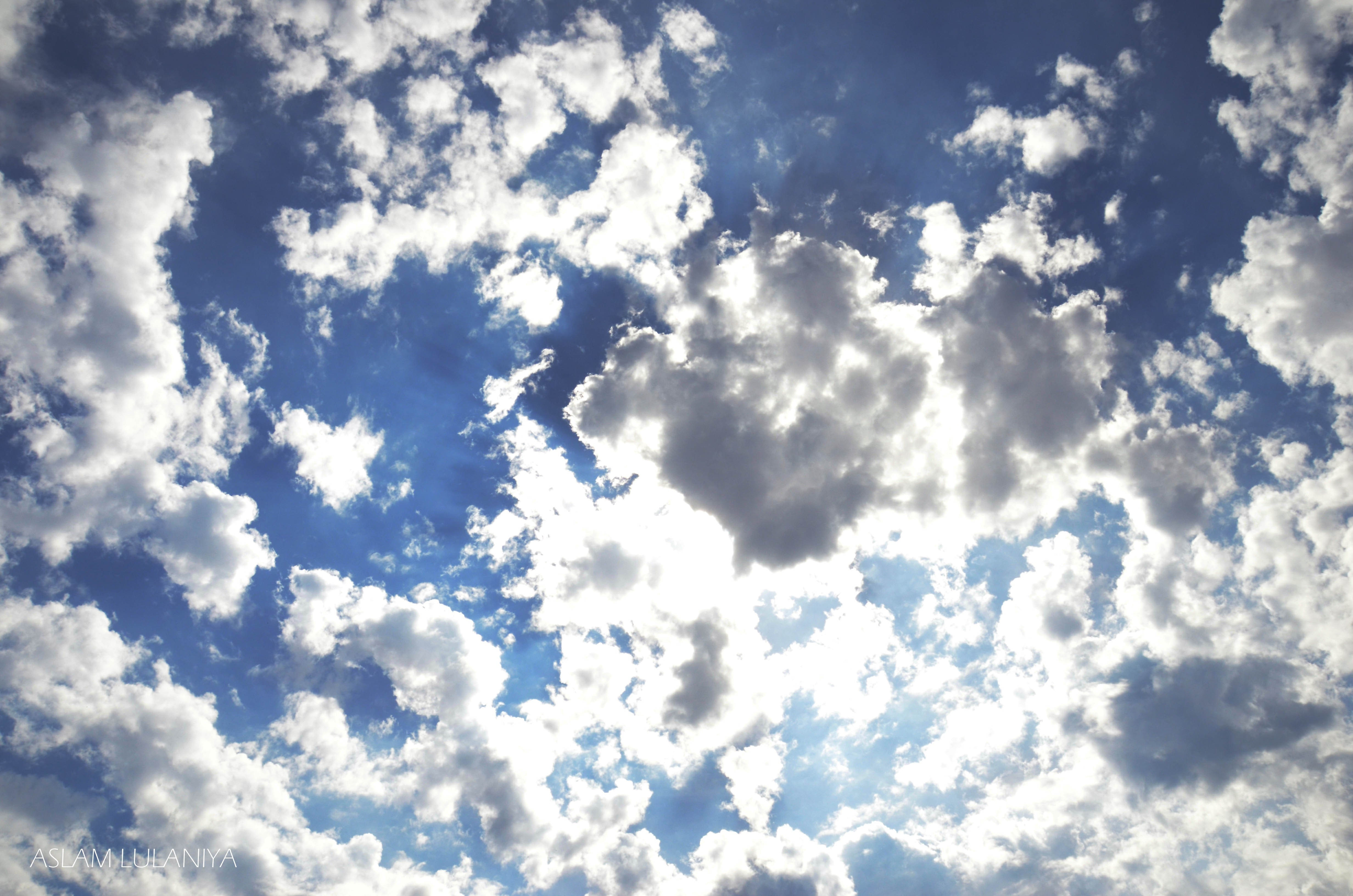 blue clouds skyscapes HD Wallpaper