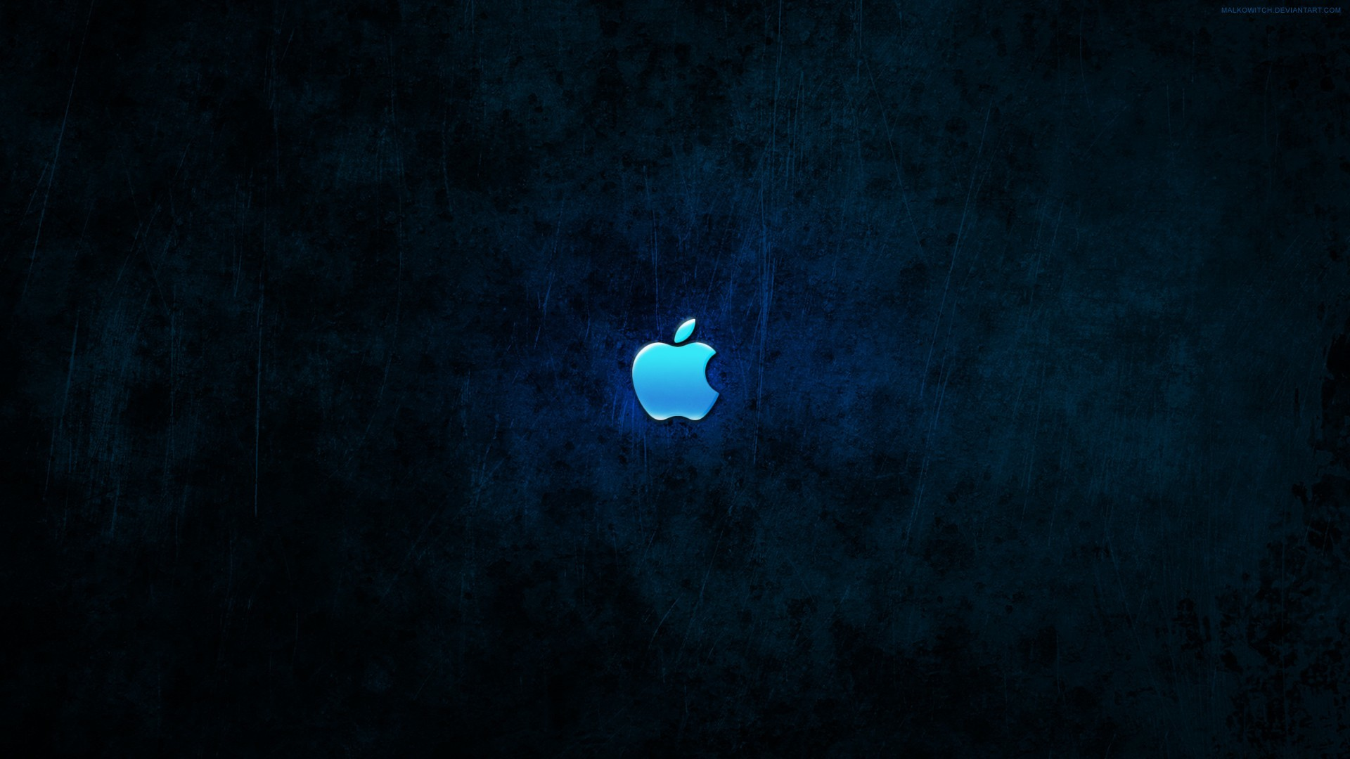 blue dark apple inc HD Wallpaper