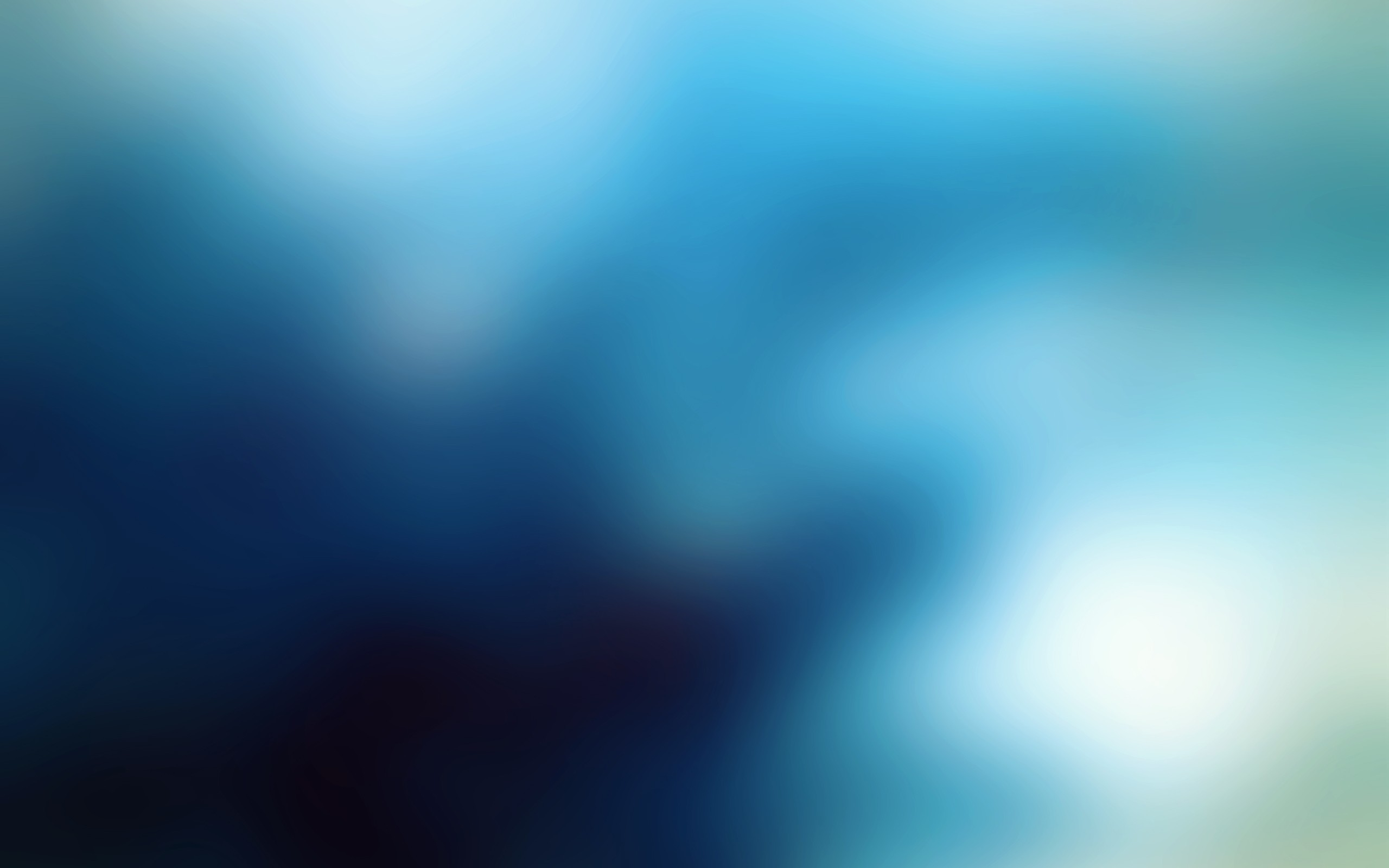 blue gaussian blur HD Wallpaper