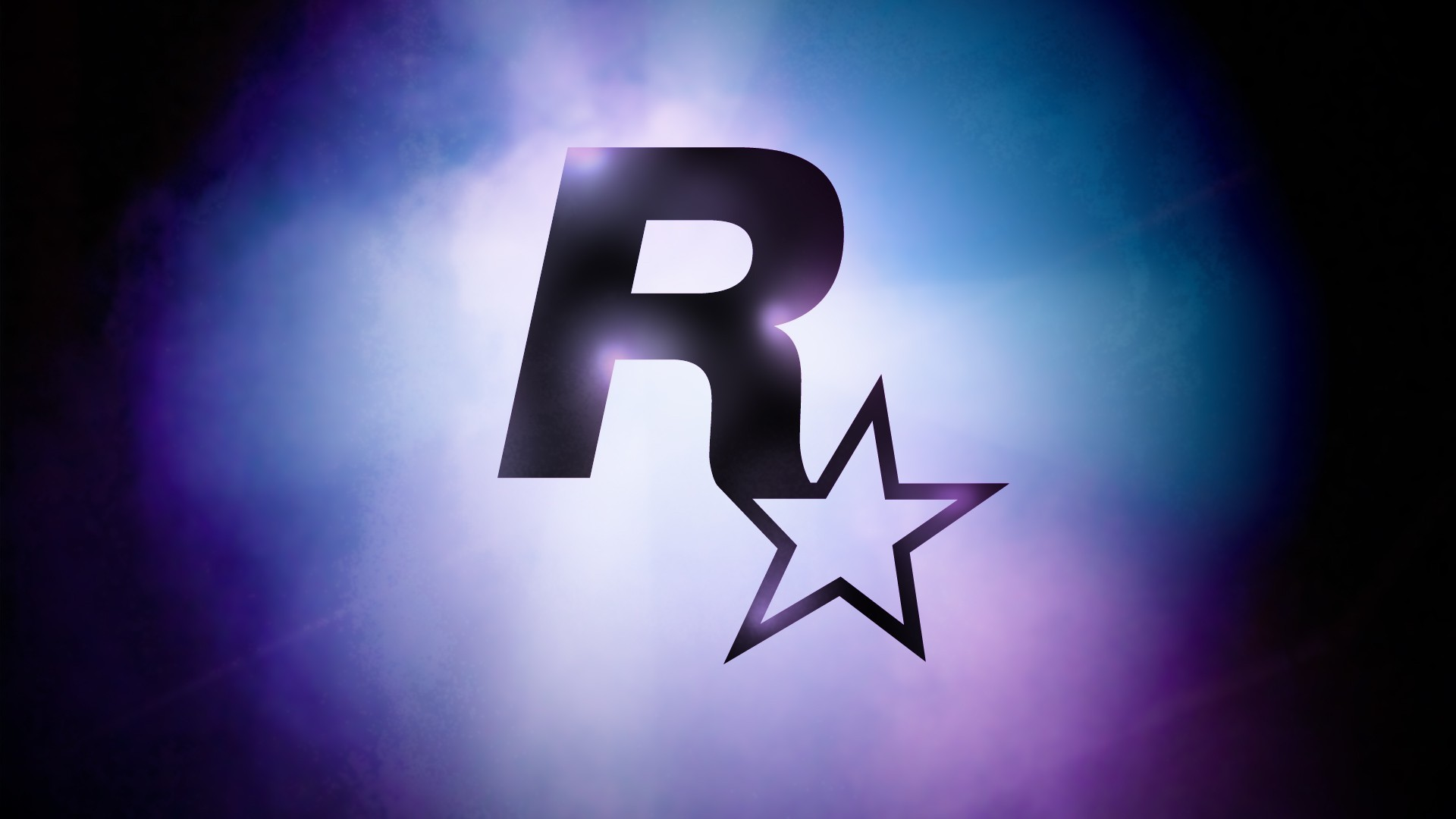 blue Stars atmosphere rockstar HD Wallpaper