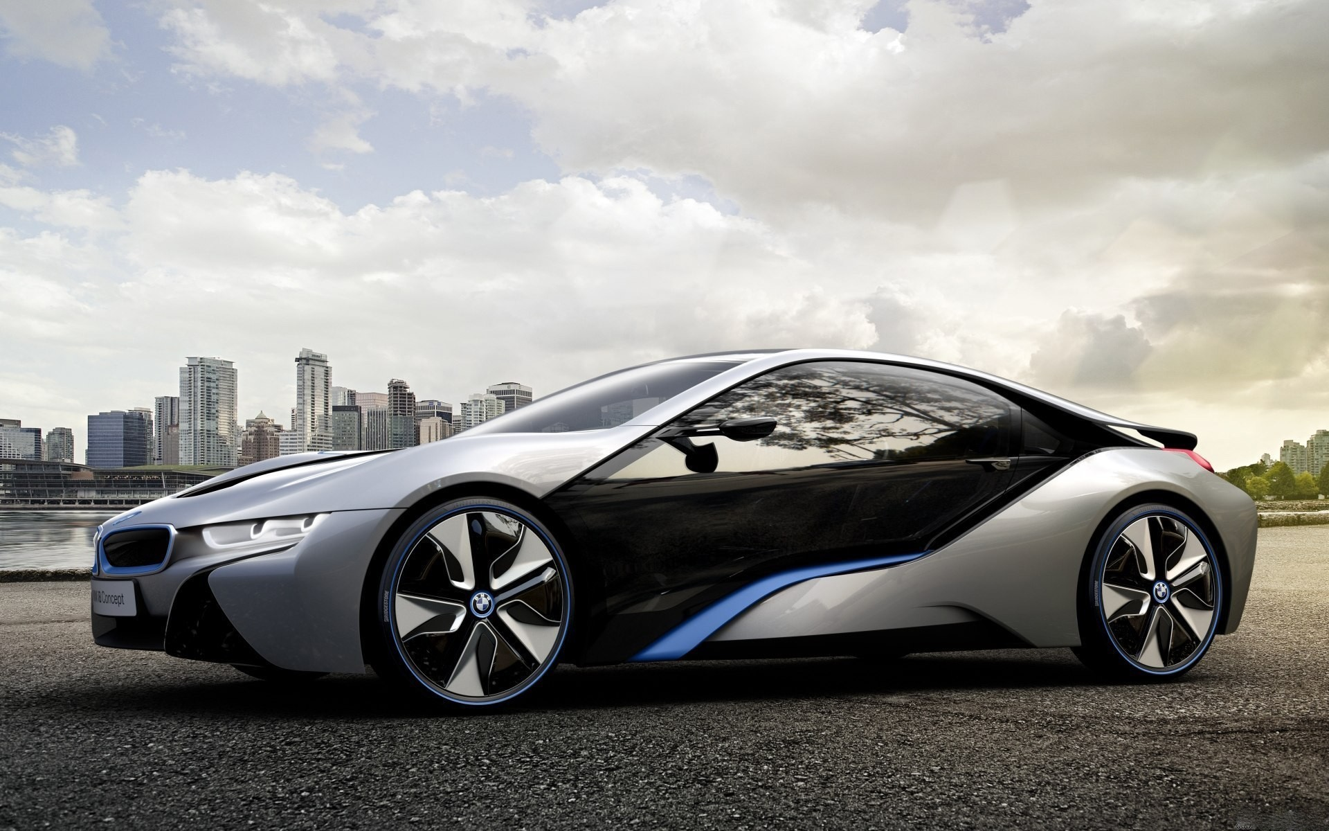 BMW cars BMW i8 HD Wallpaper