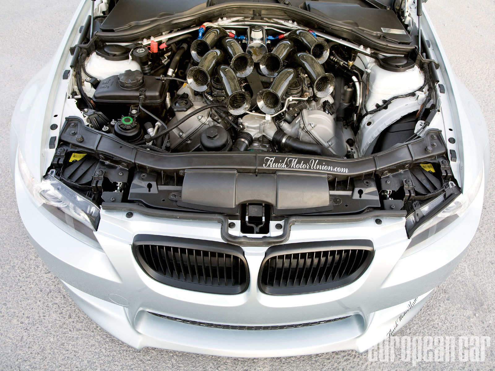 BMW cars Engines HD Wallpaper