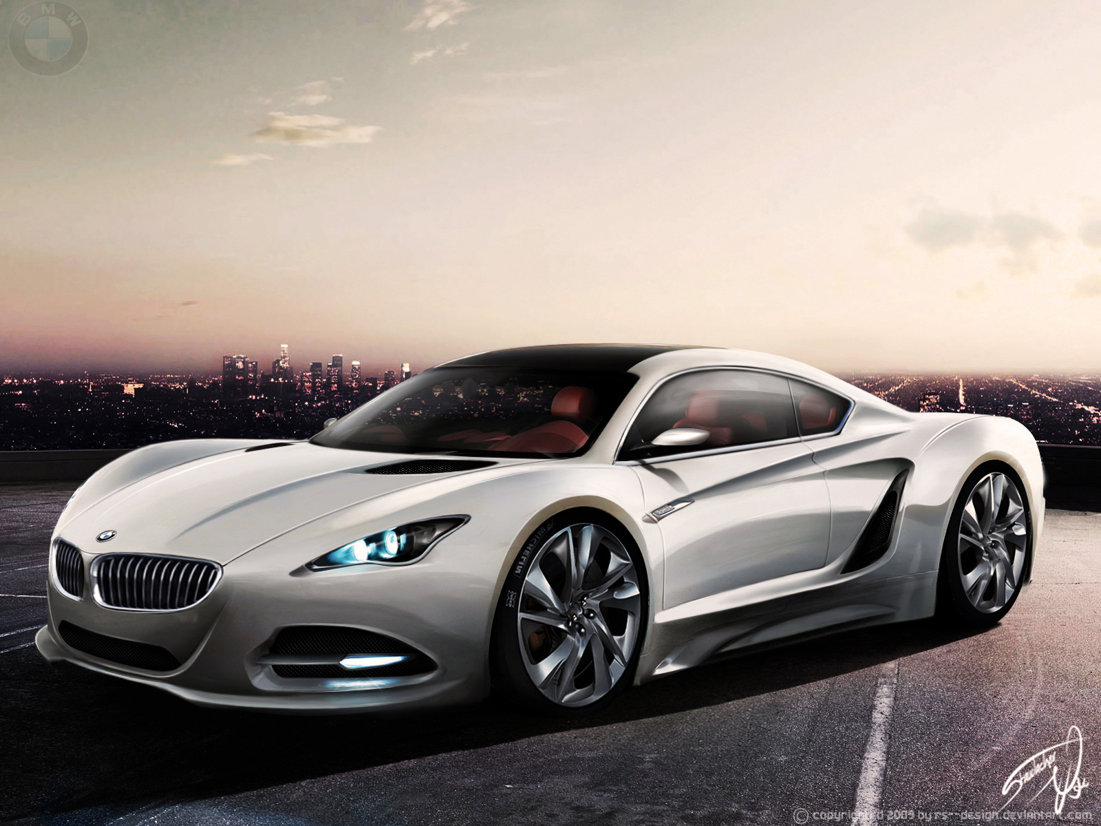 BMW cars vehicles concept HD Wallpaper