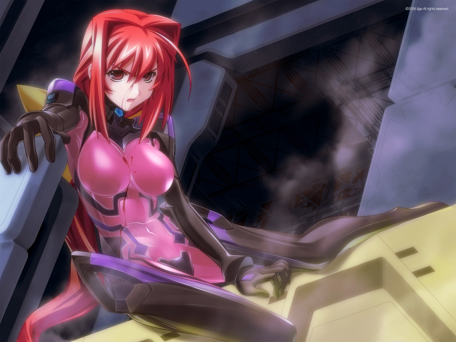 bodysuits muv-luv Kagami Sumika HD Wallpaper