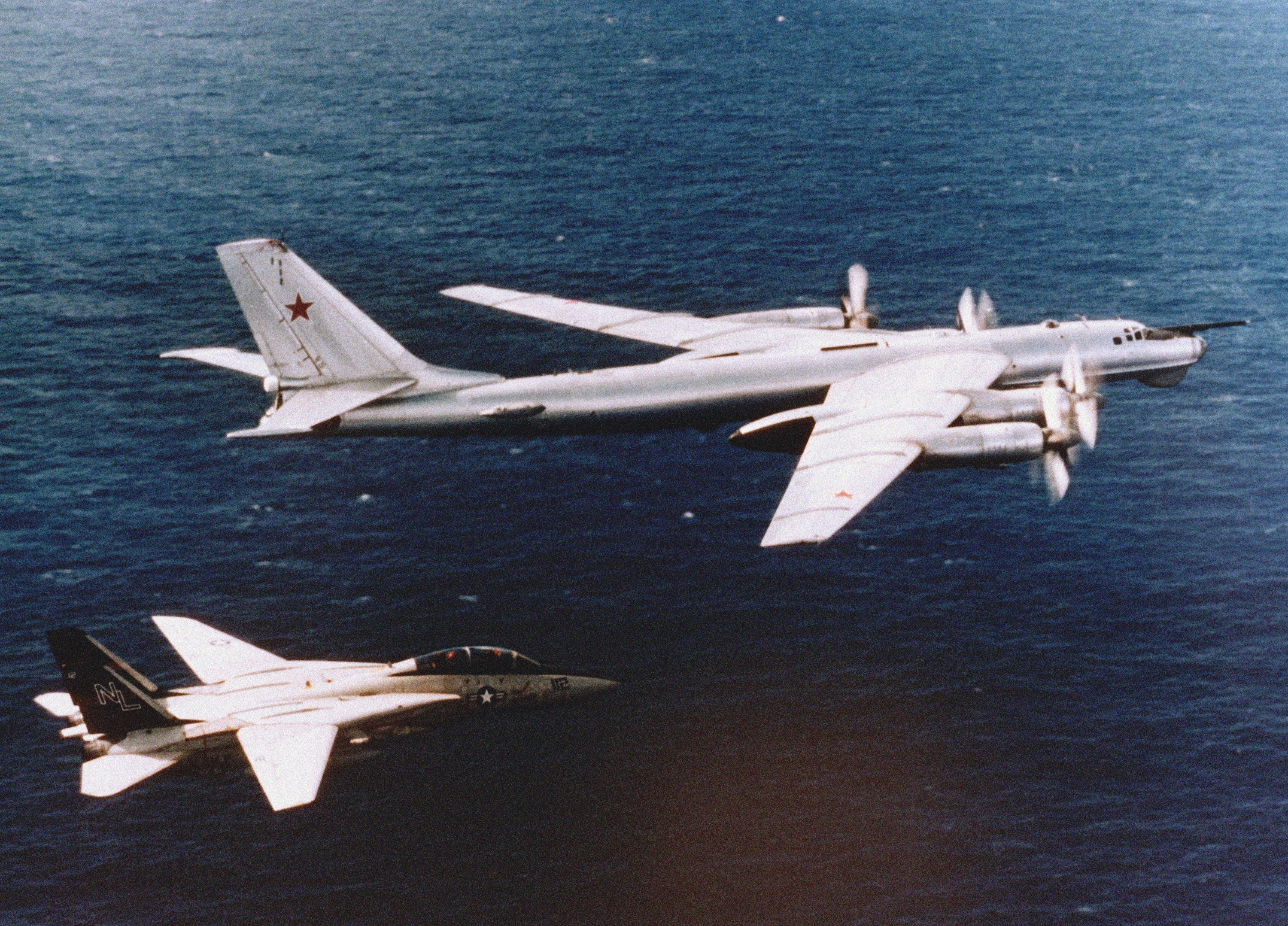 bomber planes Tu-95 Bear HD Wallpaper