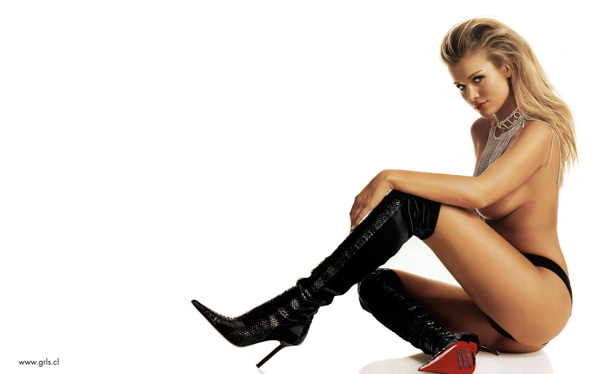 boots woman Joanna Krupa HD Wallpaper
